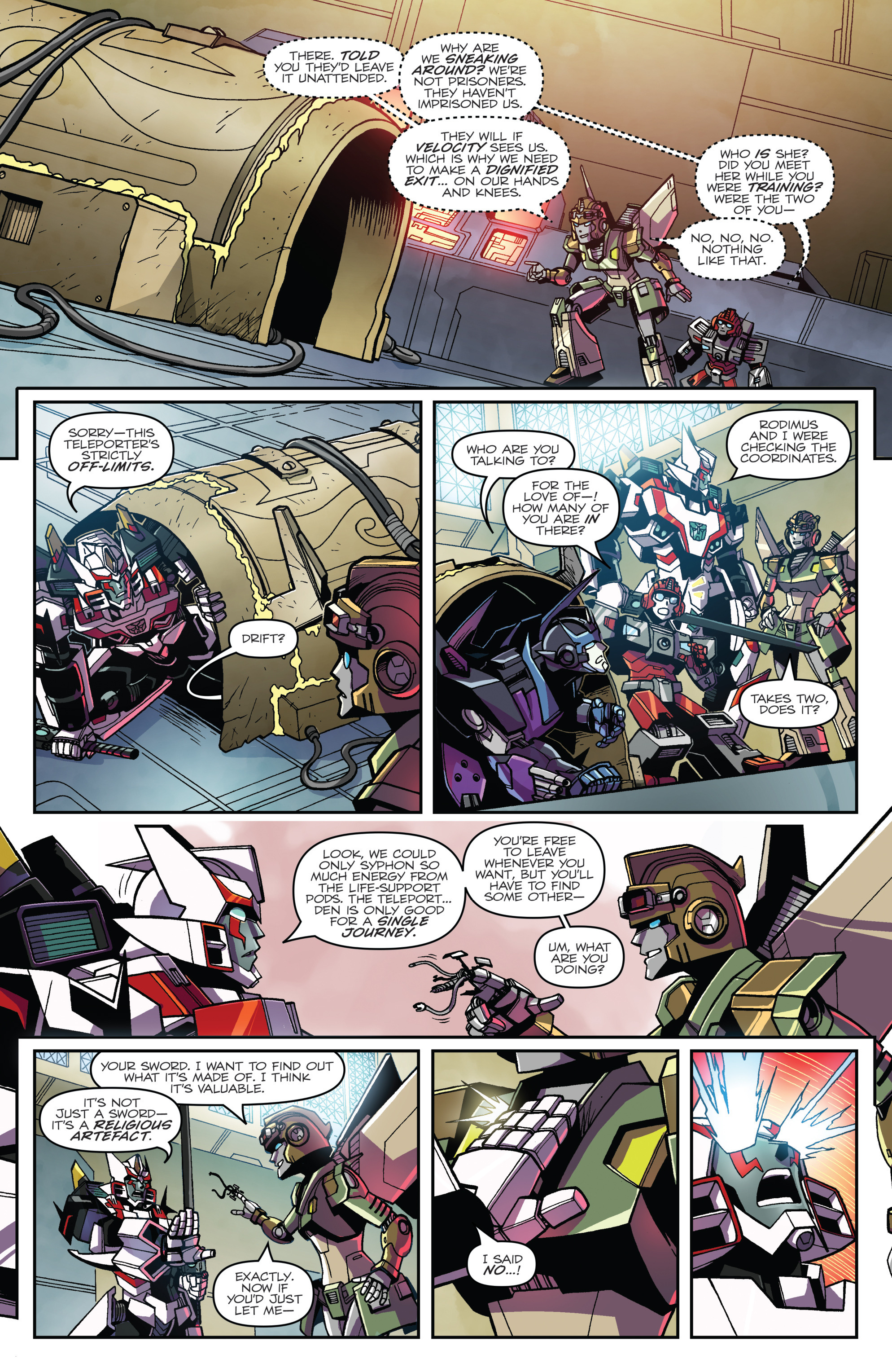 Read online Transformers: Lost Light comic -  Issue #1 - 18