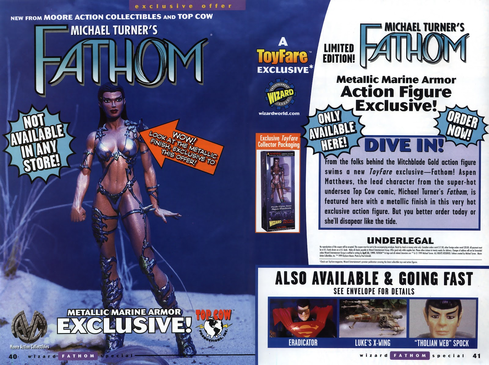 Read online Fathom Special comic -  Issue # Full - 30