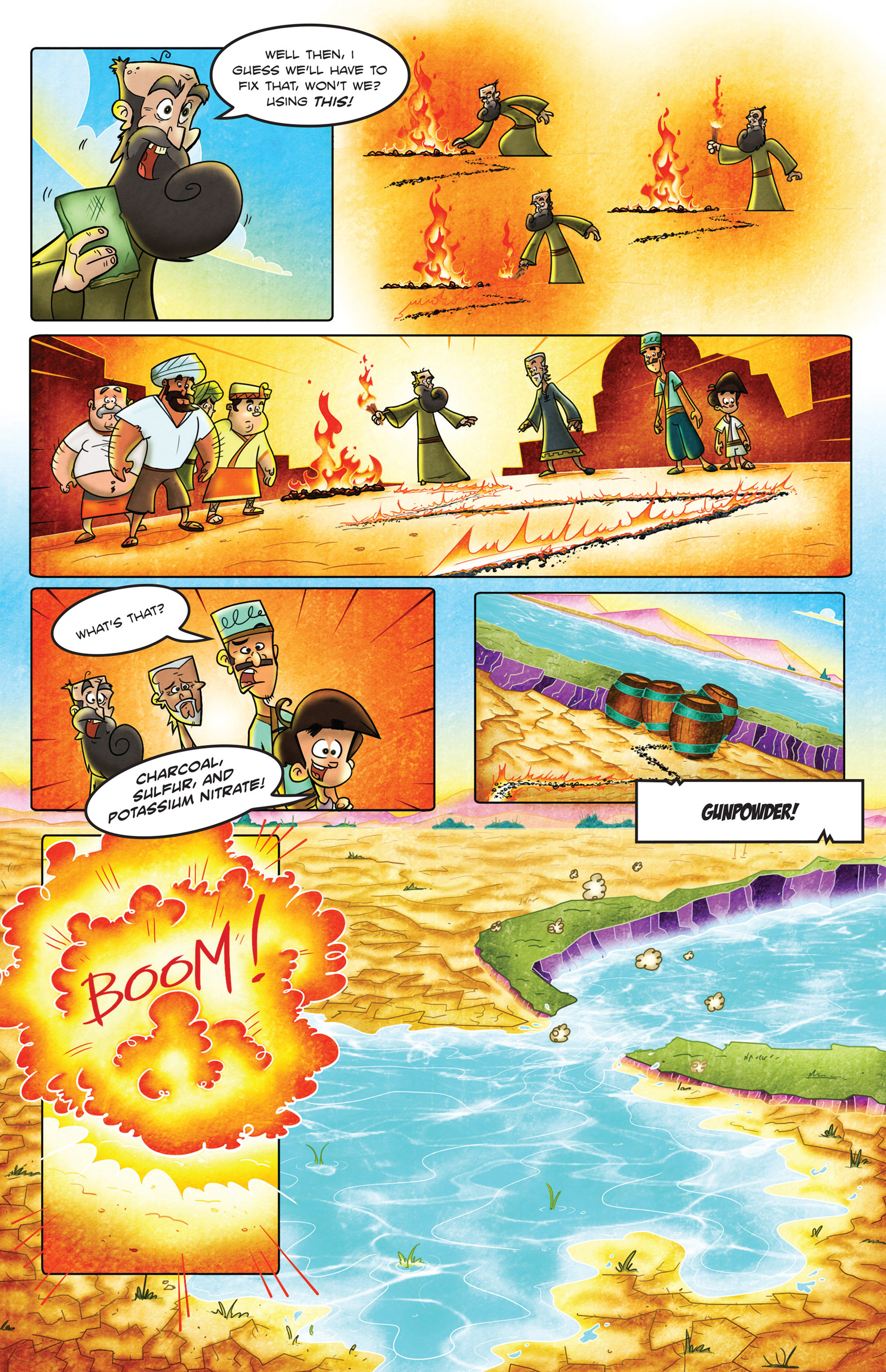 Read online 1001 Nights comic -  Issue #2 - 22