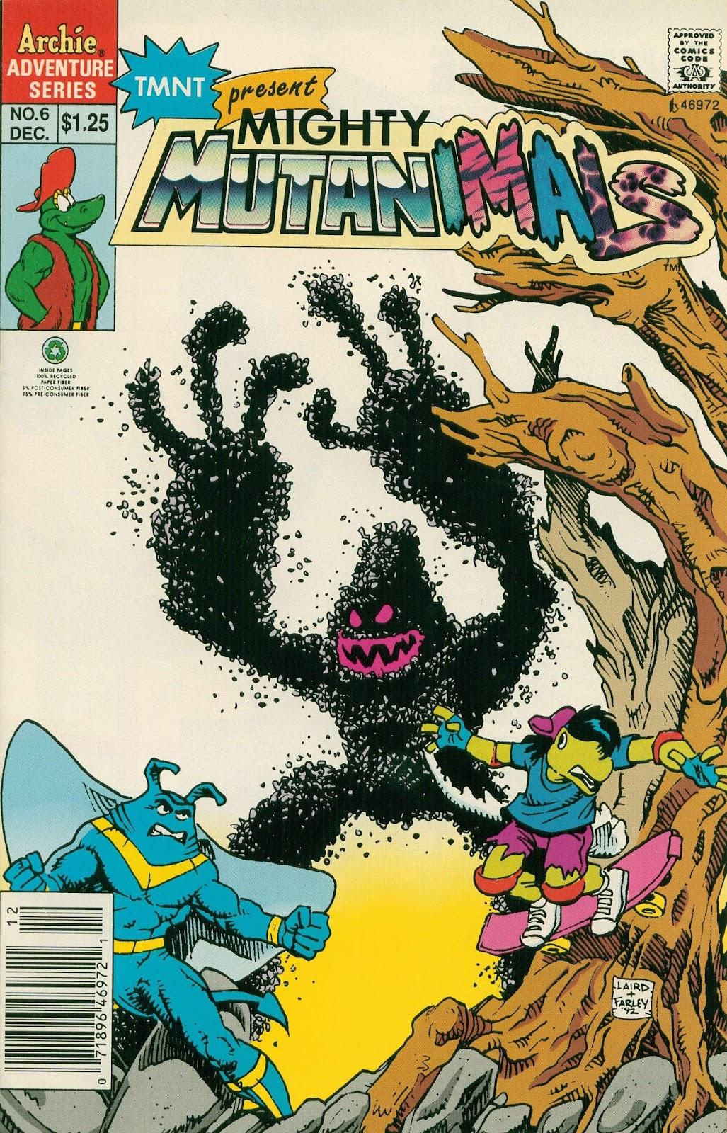 Mighty Mutanimals (1992) 6 Page 1