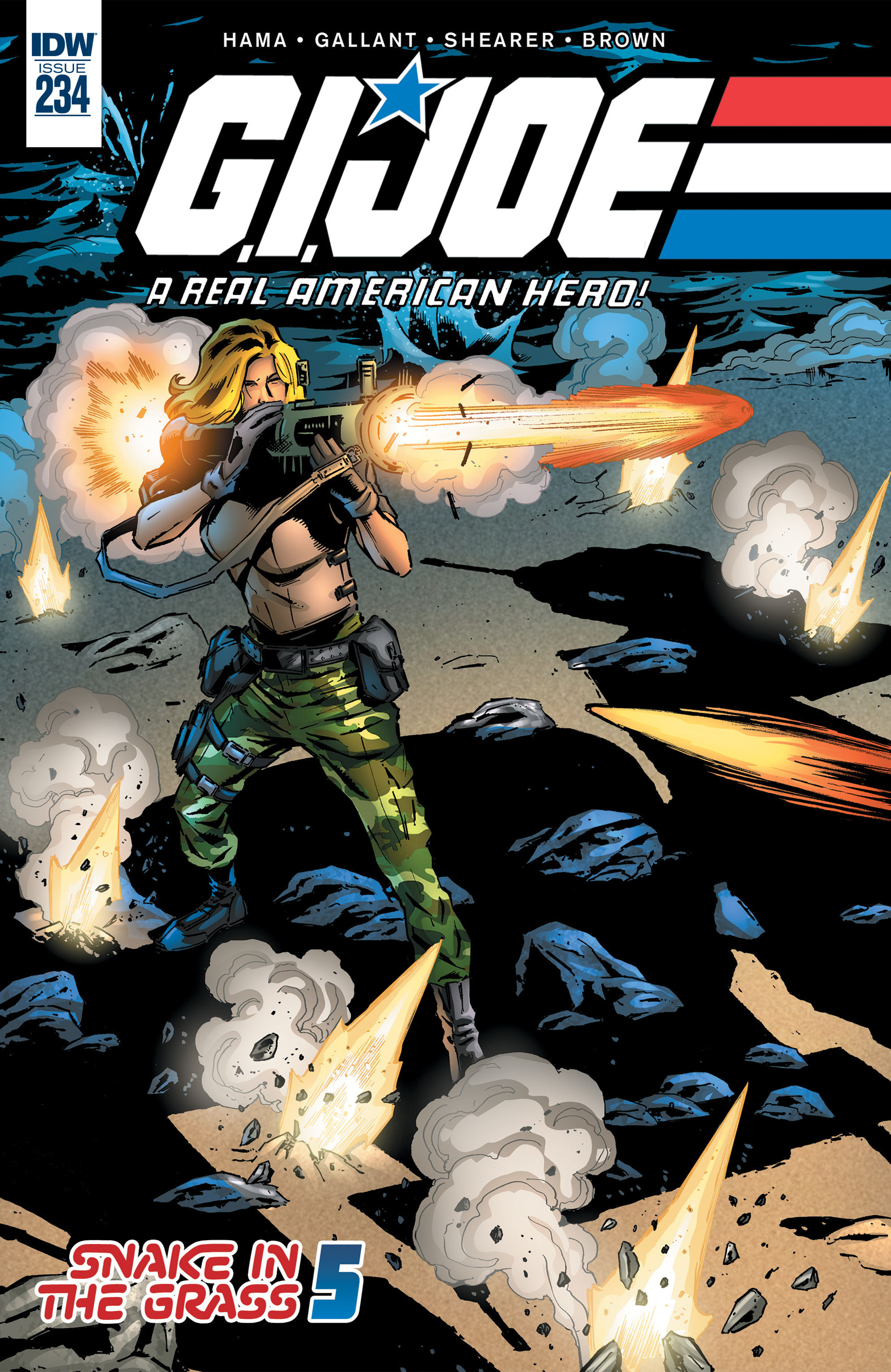 G.I. Joe: A Real American Hero 234 Page 1