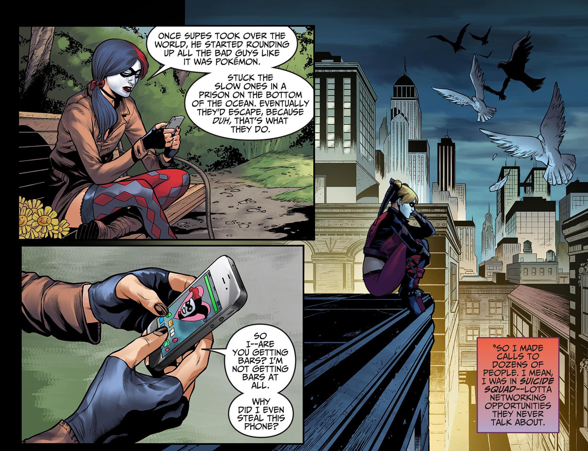 Read online Injustice: Ground Zero comic -  Issue #7 - 8