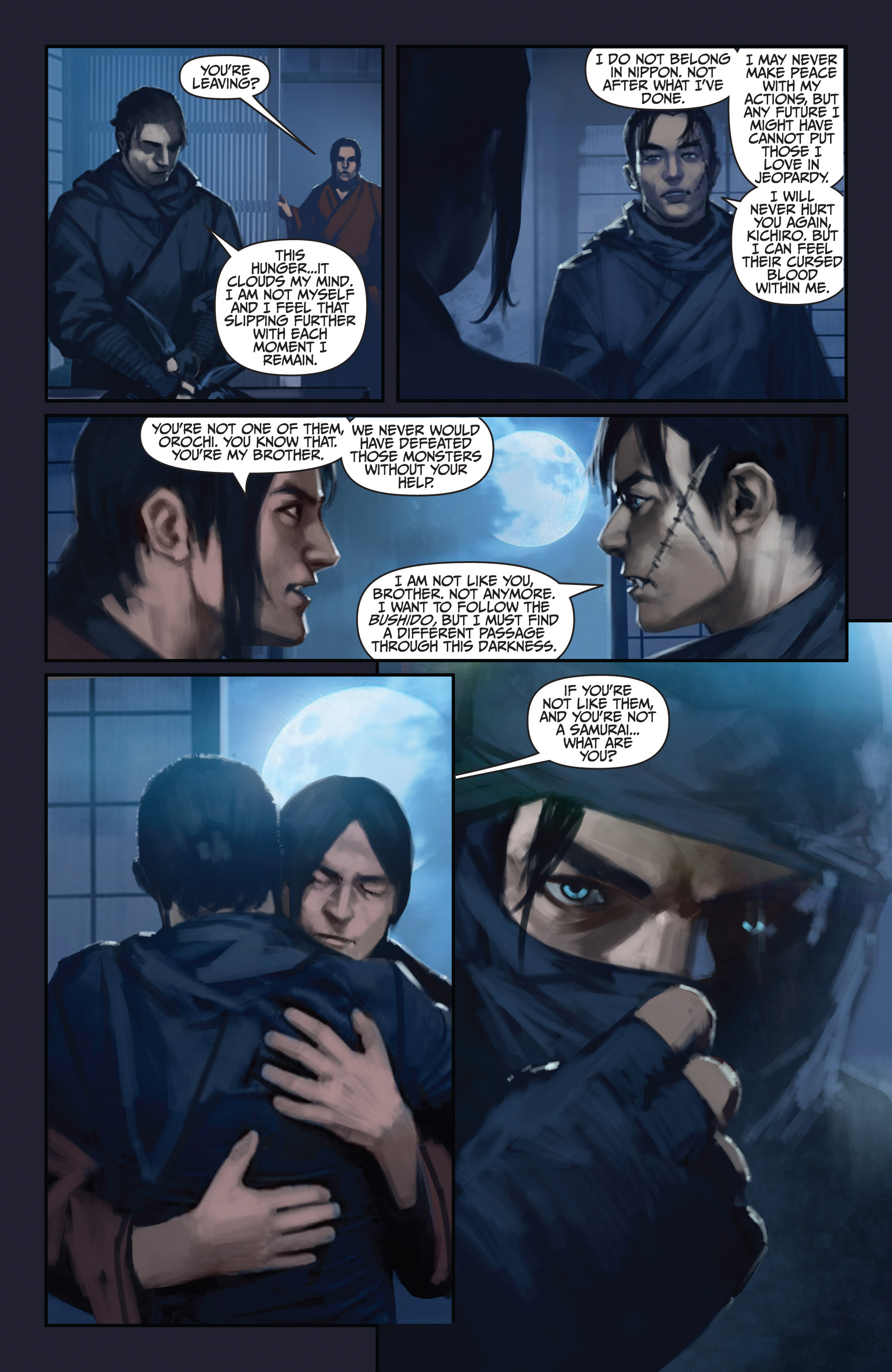Read online Bushido: The Way of the Warrior comic -  Issue #5 - 21