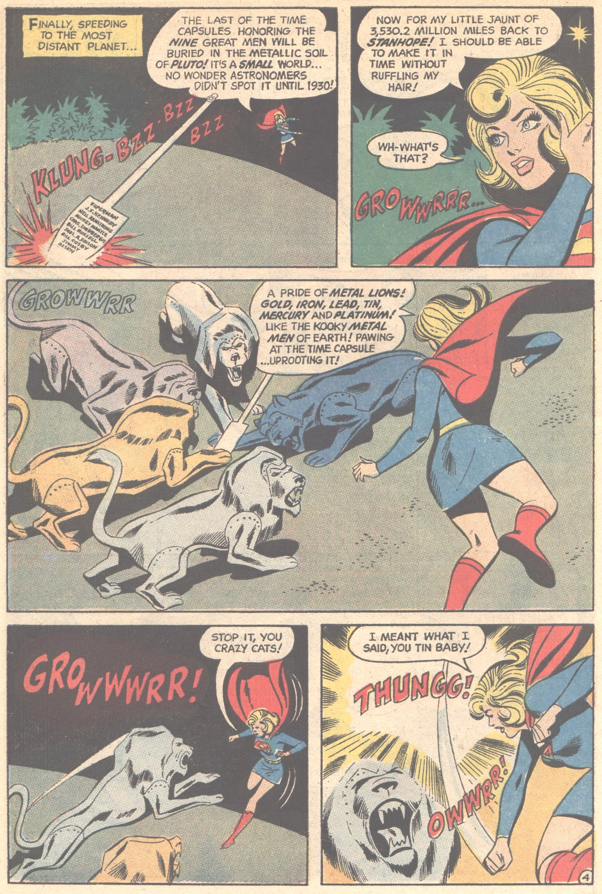 Read online Adventure Comics (1938) comic -  Issue #395 - 6