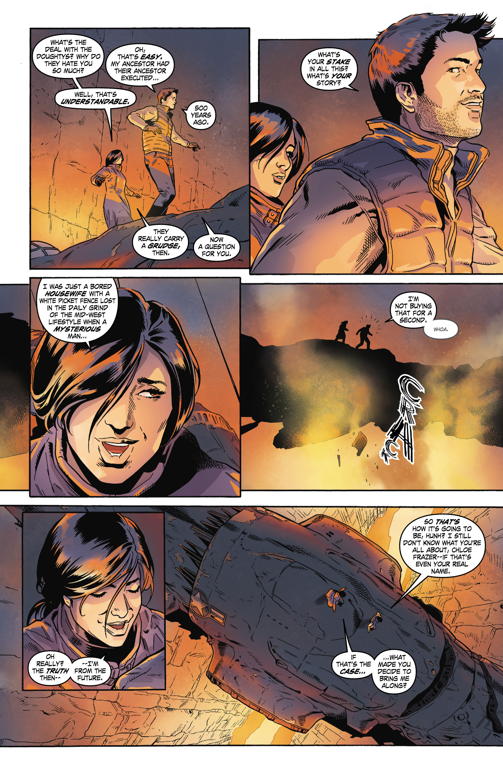 Read online Uncharted comic -  Issue #4 - 15