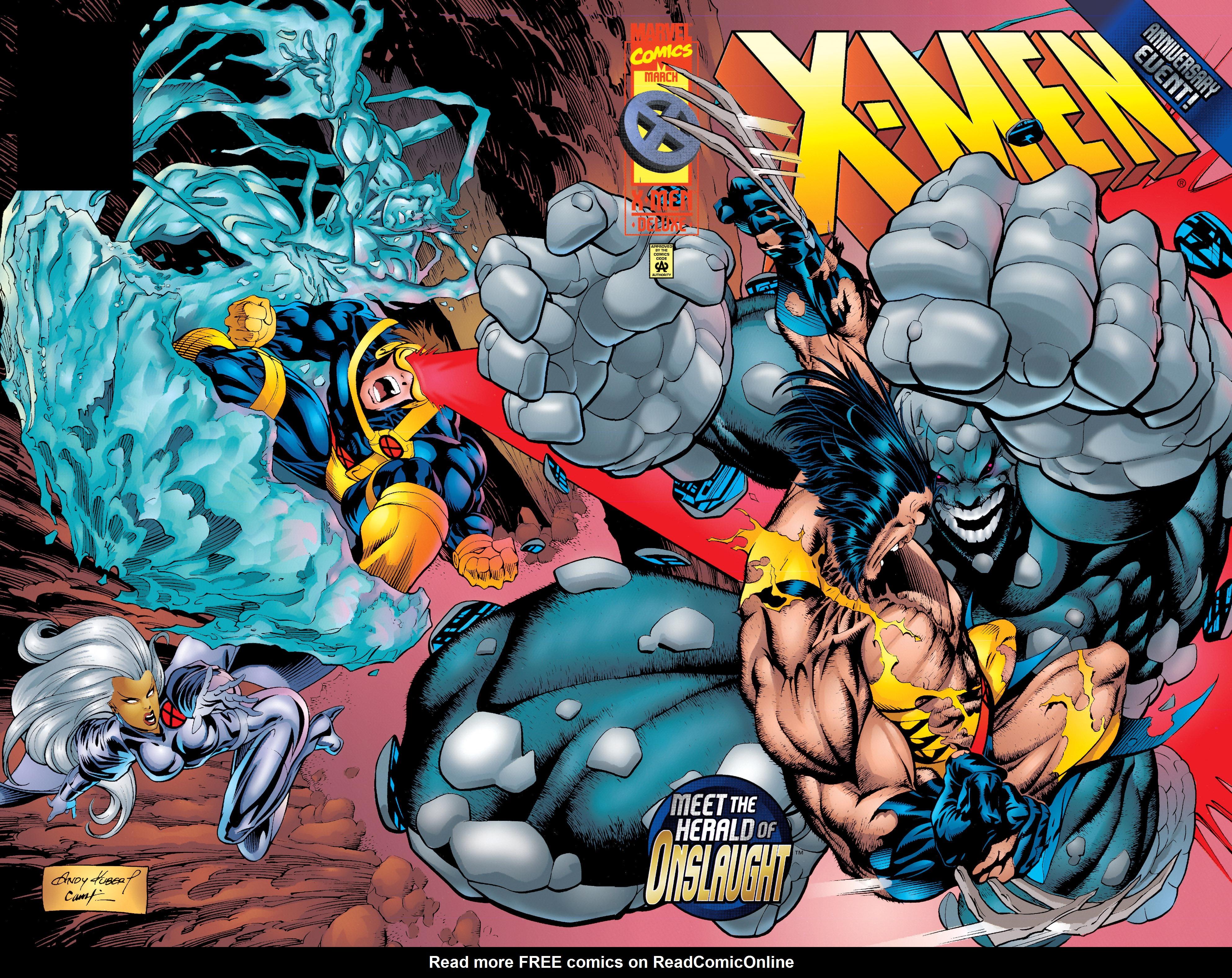 X-Men (1991) 50 Page 1