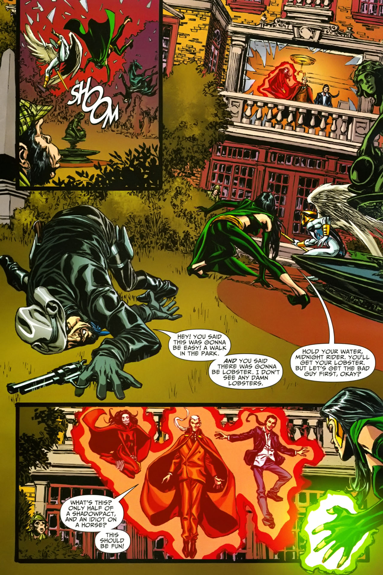 Read online Shadowpact comic -  Issue #19 - 8