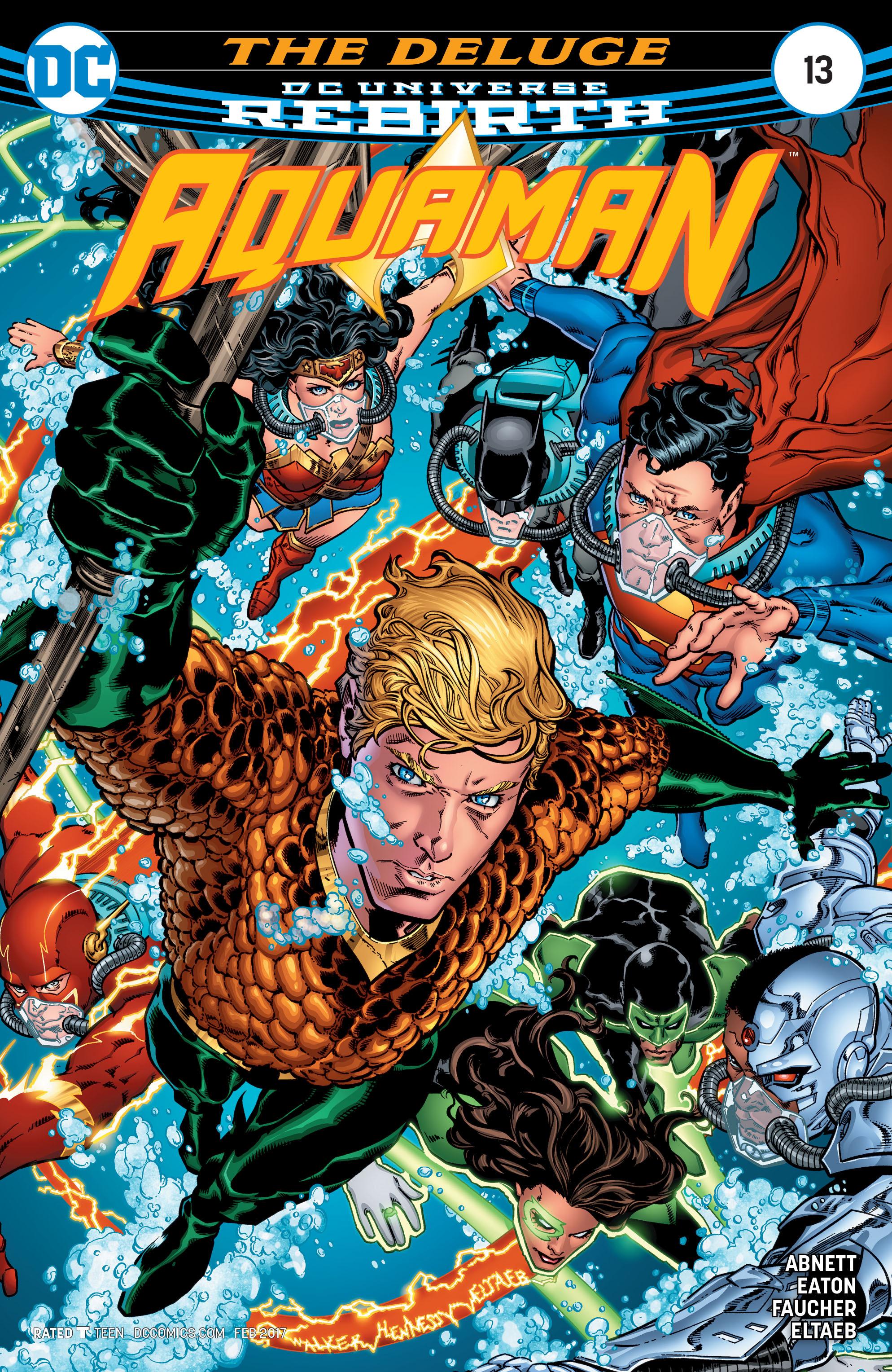 Read online Aquaman (2016) comic -  Issue #13 - 1
