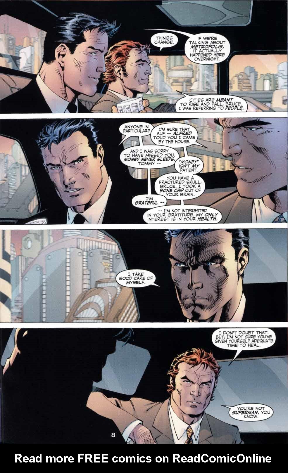 Read online Batman: Hush comic -  Issue #4 - 8