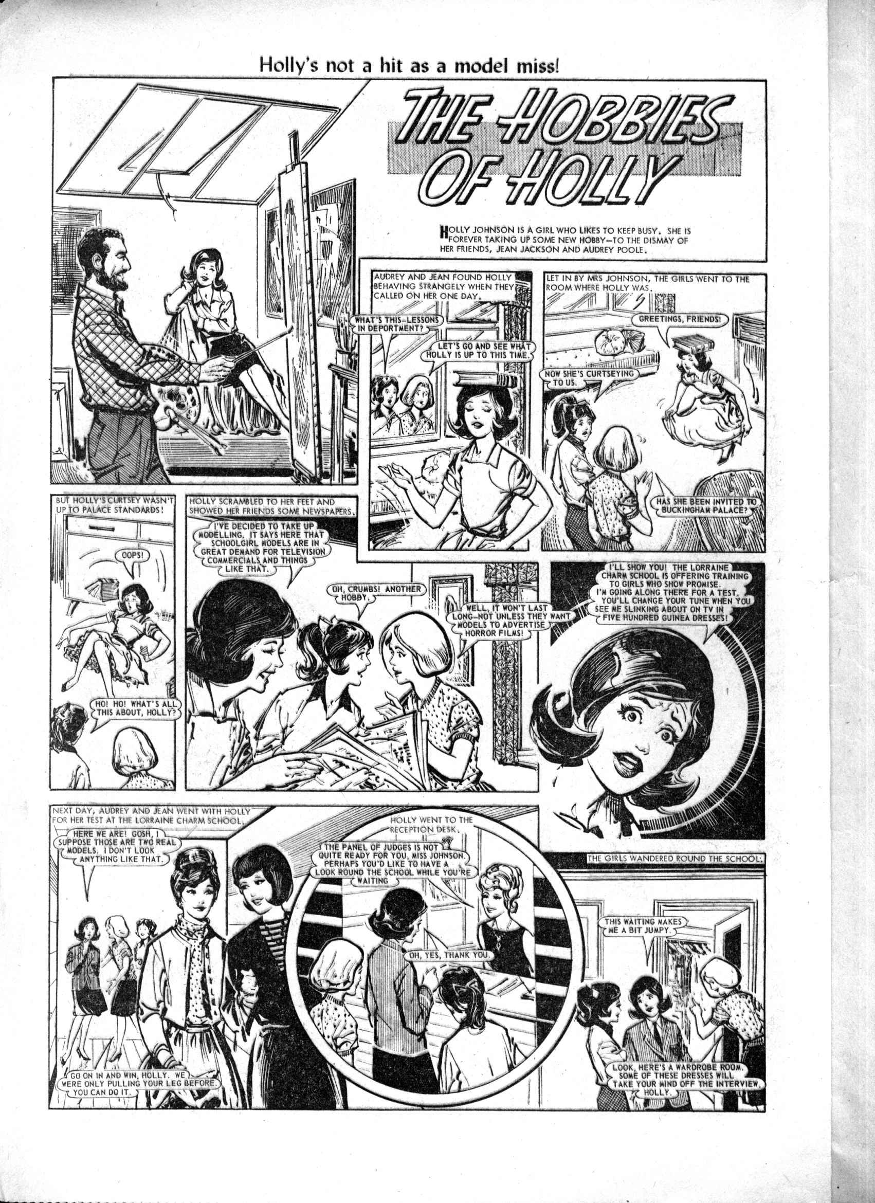 Read online Judy comic -  Issue #218 - 2