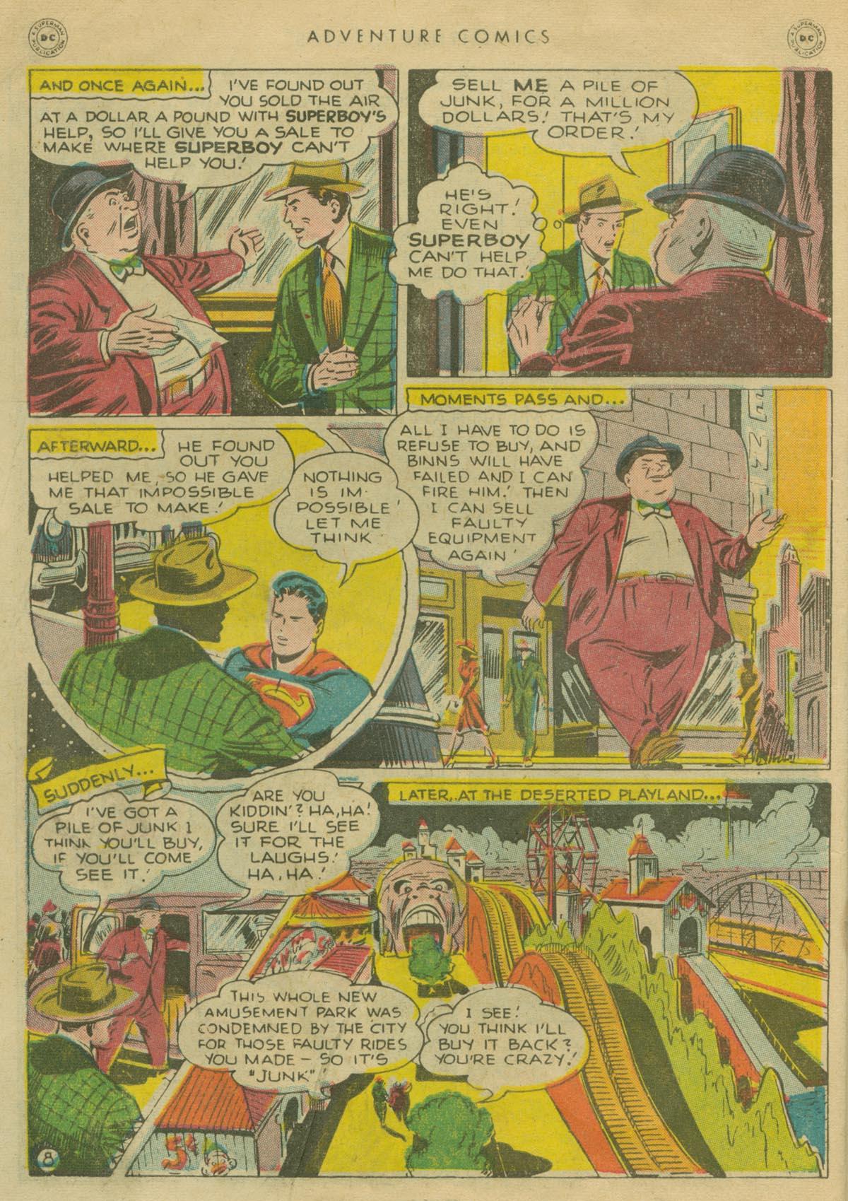 Read online Adventure Comics (1938) comic -  Issue #130 - 9