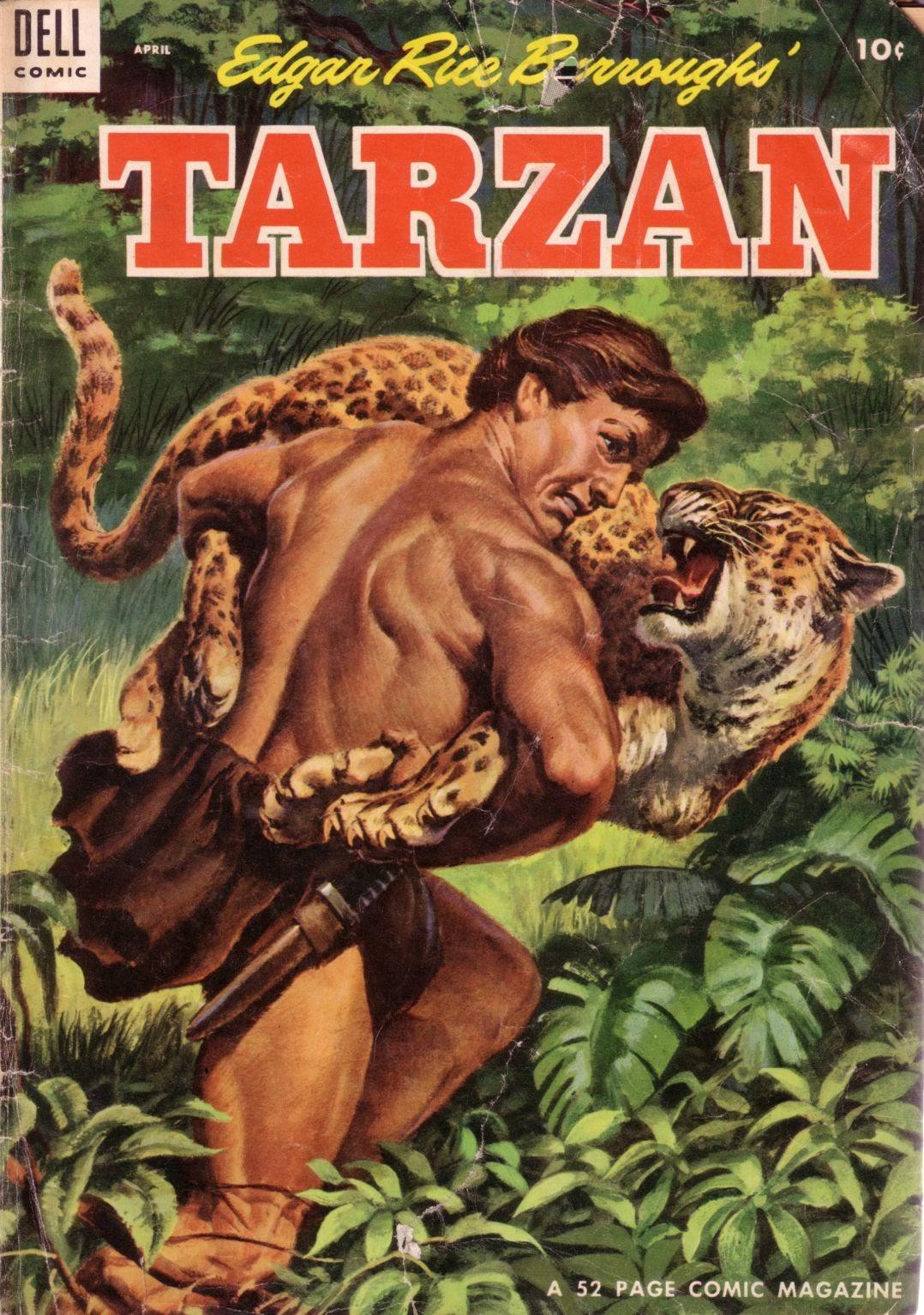 Tarzan (1948) issue 55 - Page 1