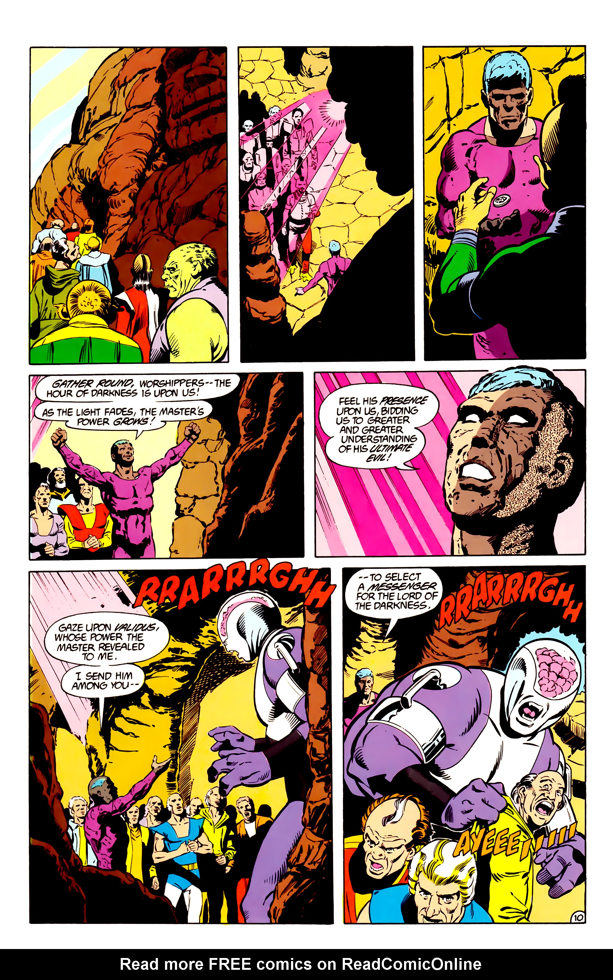 Legion of Super-Heroes (1984) _Annual_2 Page 11