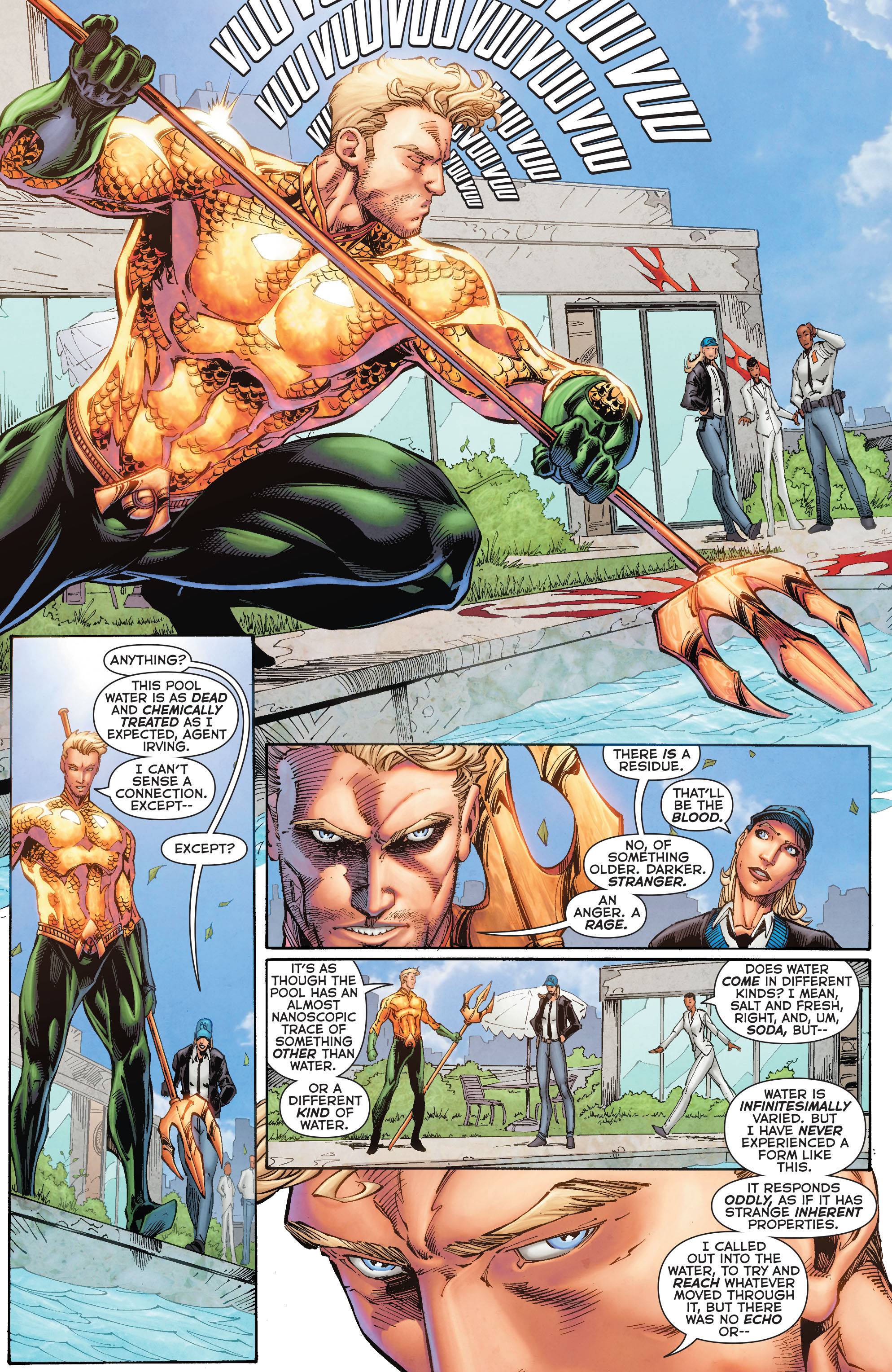 Read online Aquaman (2011) comic -  Issue #50 - 17