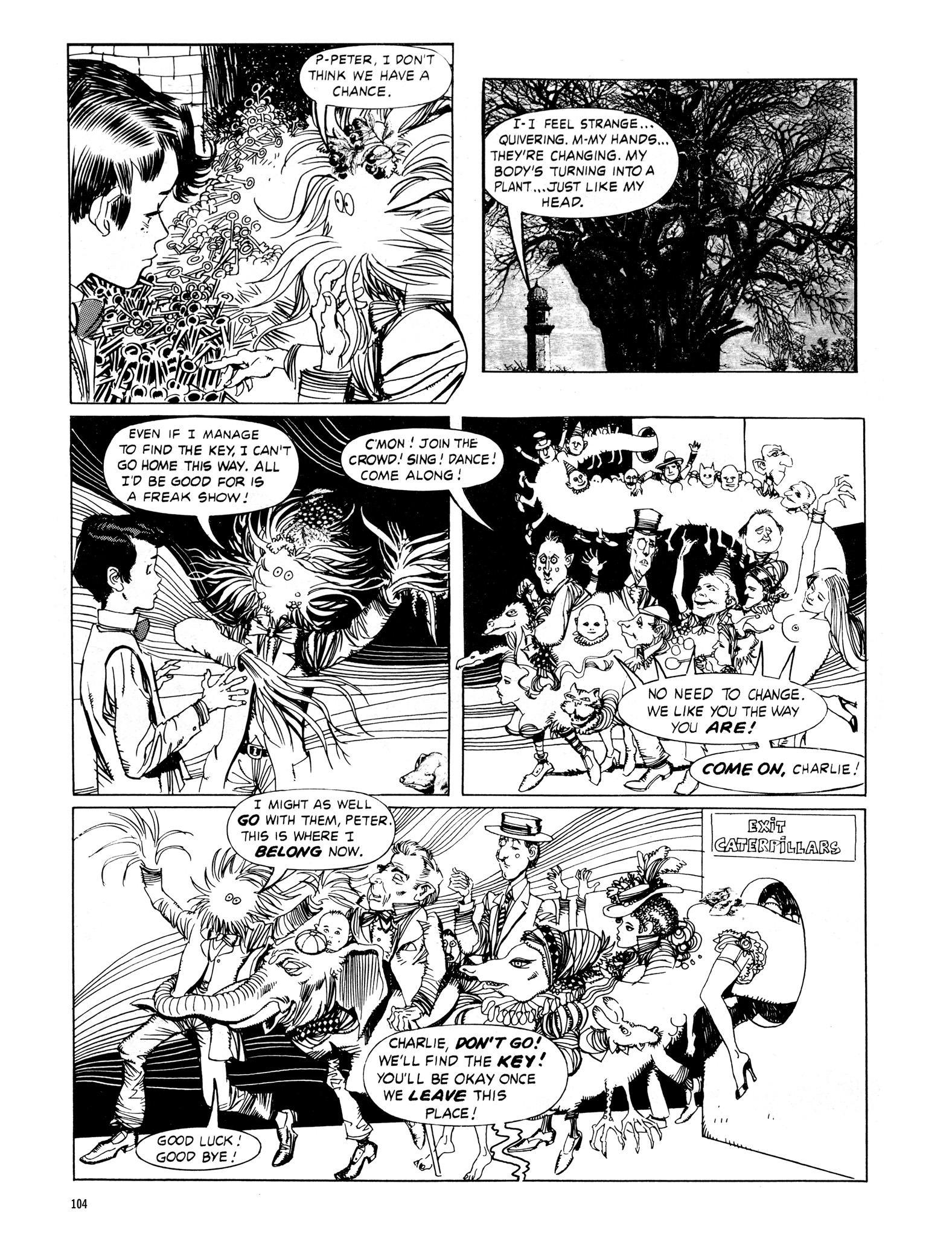 Read online Eerie Archives comic -  Issue # TPB 16 - 105