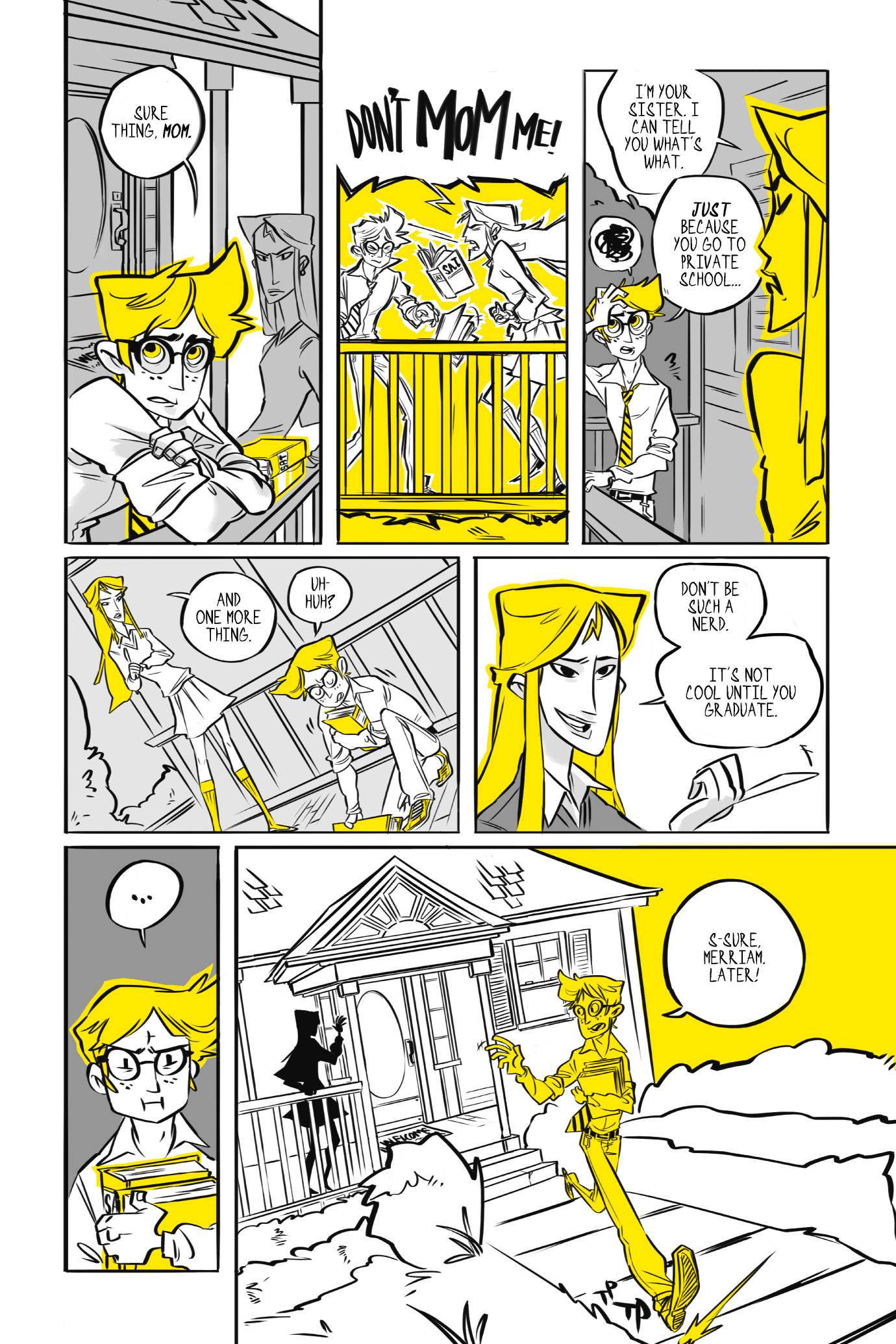 Read online BUZZ! comic -  Issue # TPB - 10