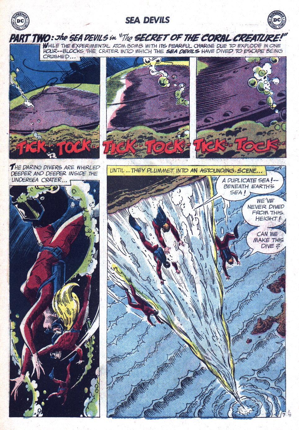 Read online Sea Devils comic -  Issue #9 - 12