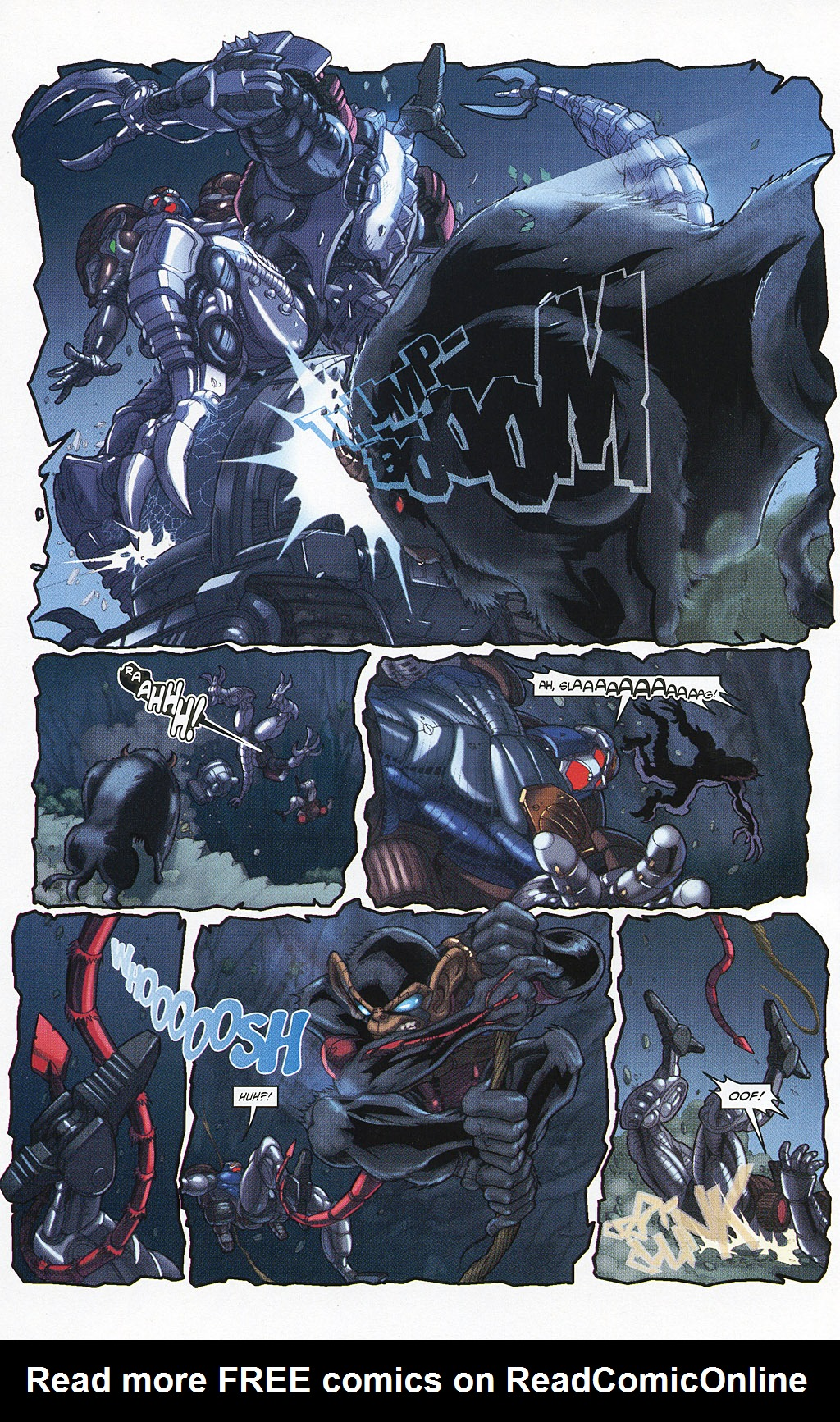 Read online Transformers 20th Anniversary Summer Special comic -  Issue # Full - 38