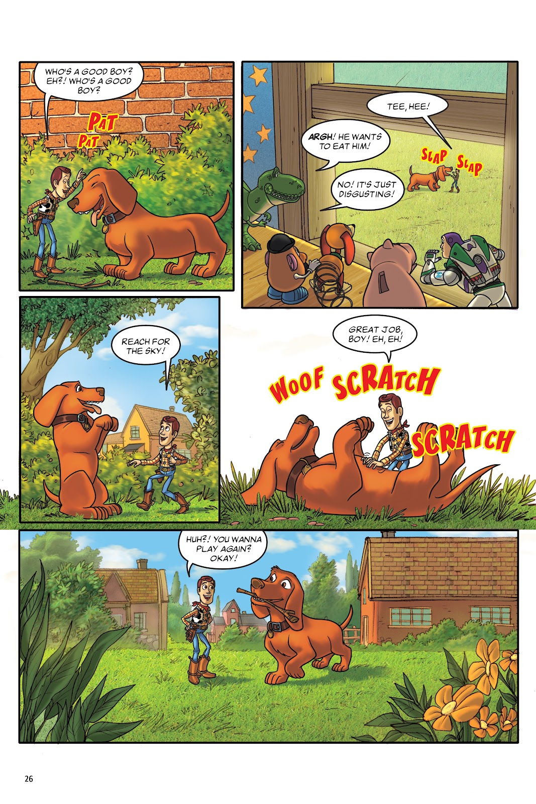 Read online DISNEY·PIXAR Toy Story Adventures comic -  Issue # TPB 1 (Part 1) - 26