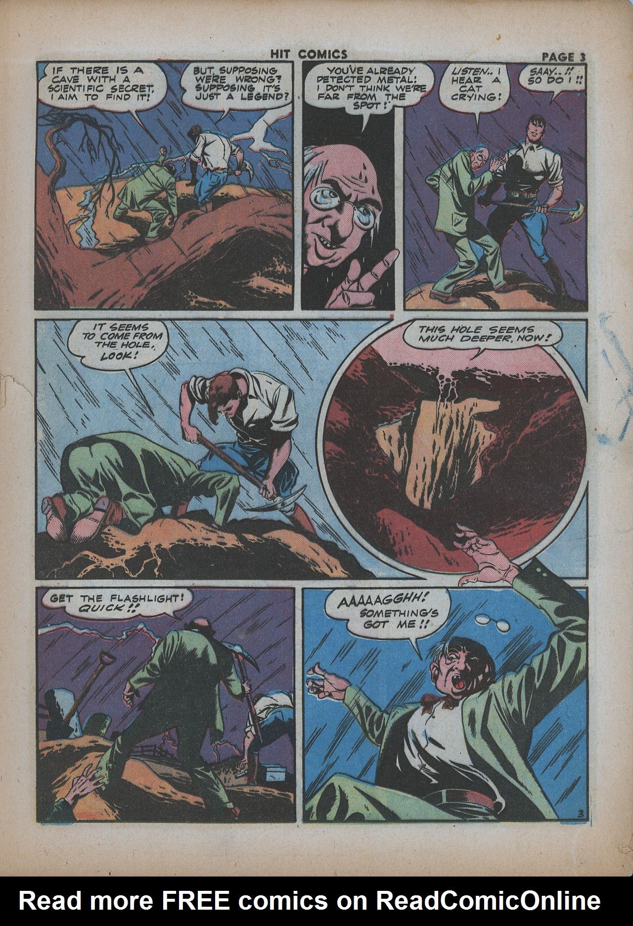 Read online Hit Comics comic -  Issue #26 - 5