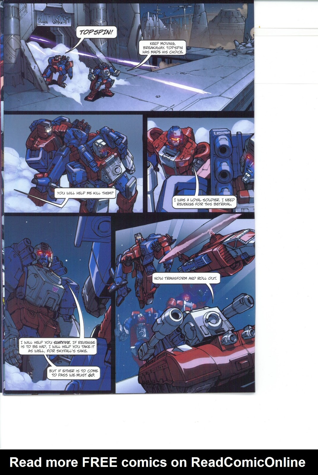 Read online Transformers: Collectors' Club comic -  Issue #26 - 12