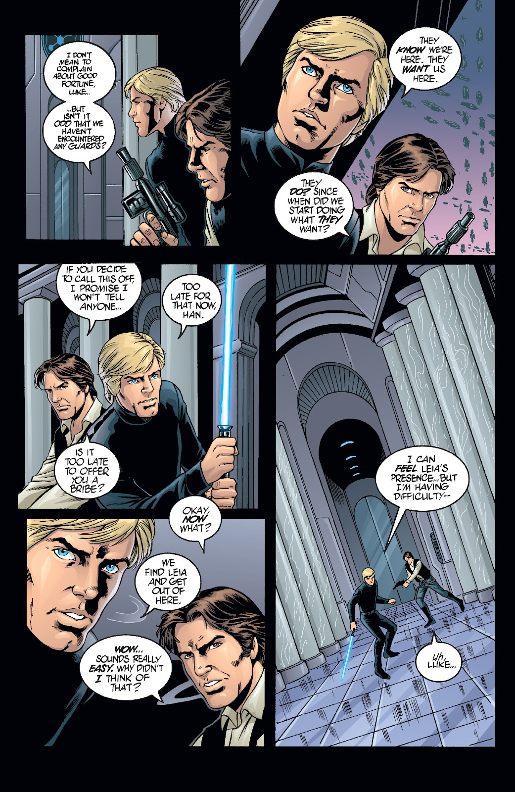 Read online Star Wars Legends: Infinities - Epic Collection comic -  Issue # TPB (Part 1) - 84