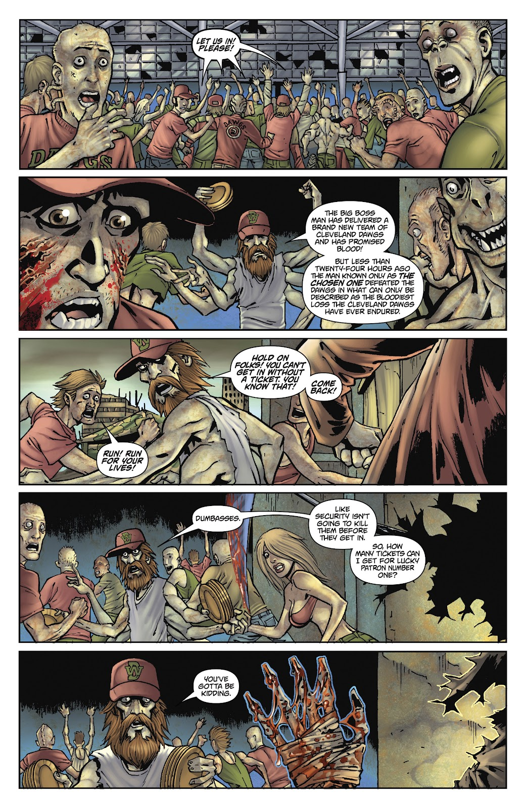 Army of Darkness: The Long Road Home issue TPB - Page 85