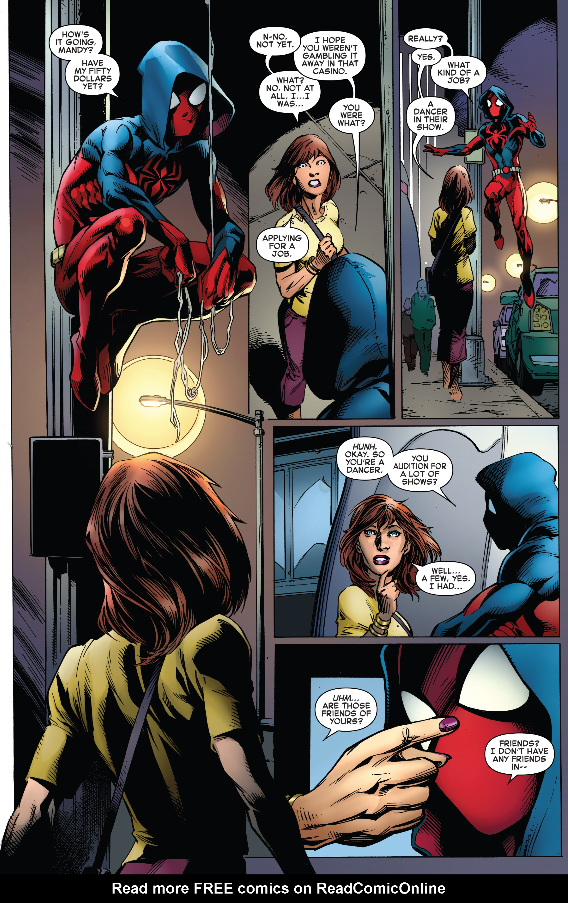Read online Ben Reilly: Scarlet Spider comic -  Issue #3 - 11