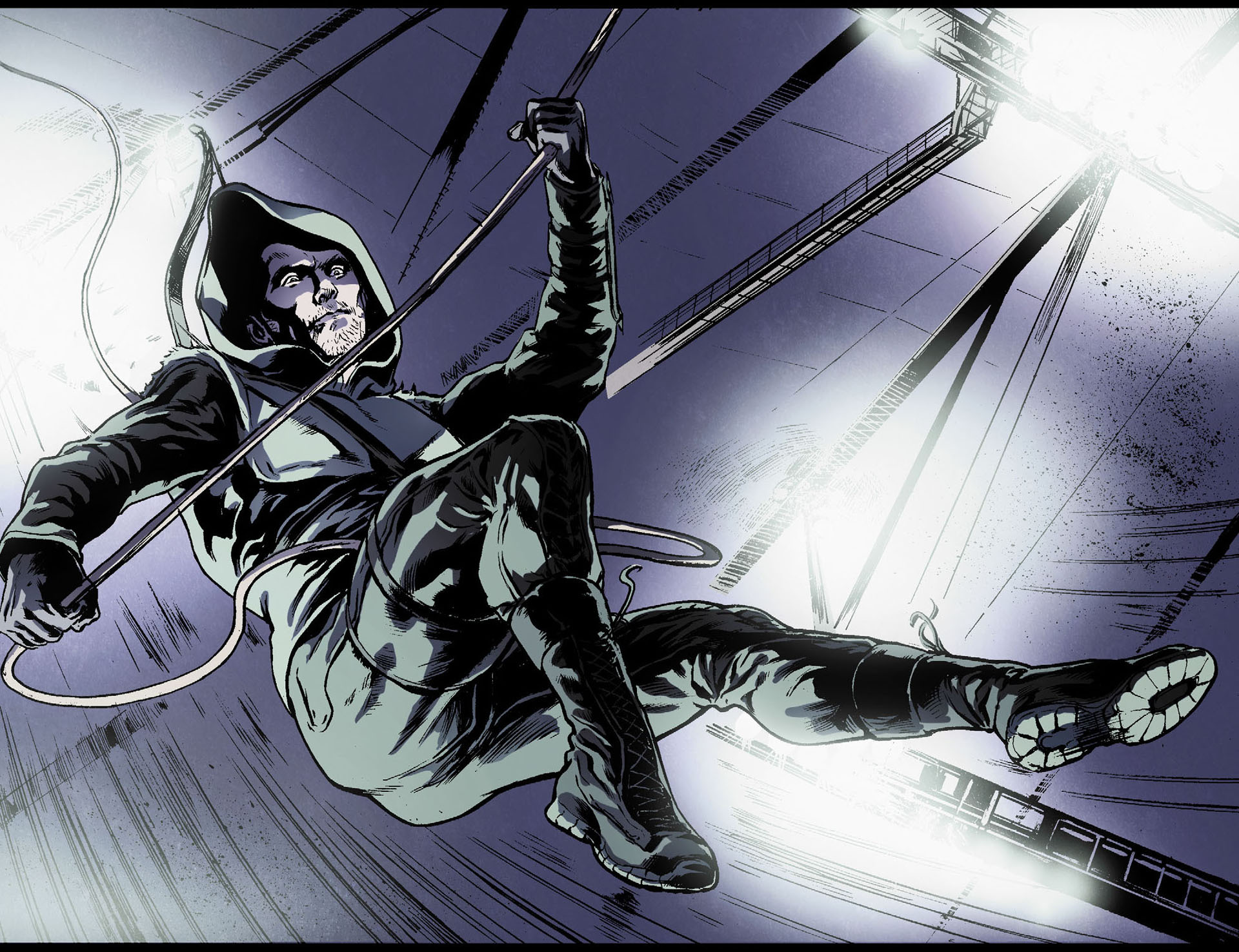 Read online Arrow [II] comic -  Issue #17 - 18
