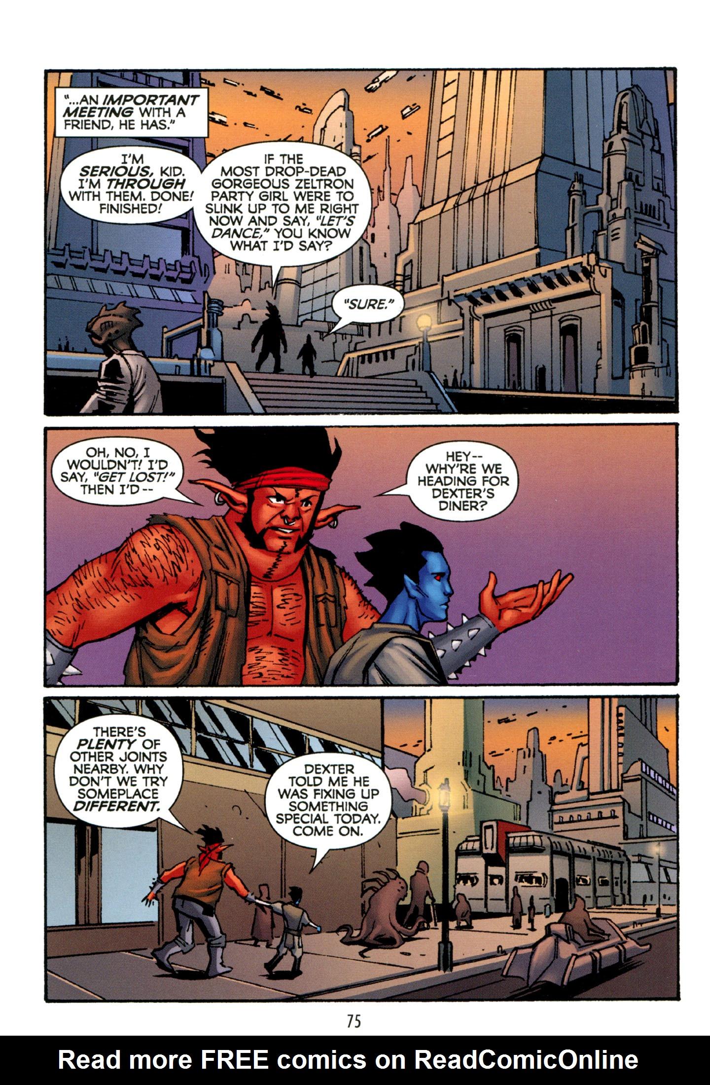 Read online Star Wars: The Clone Wars - Strange Allies comic -  Issue # Full - 76