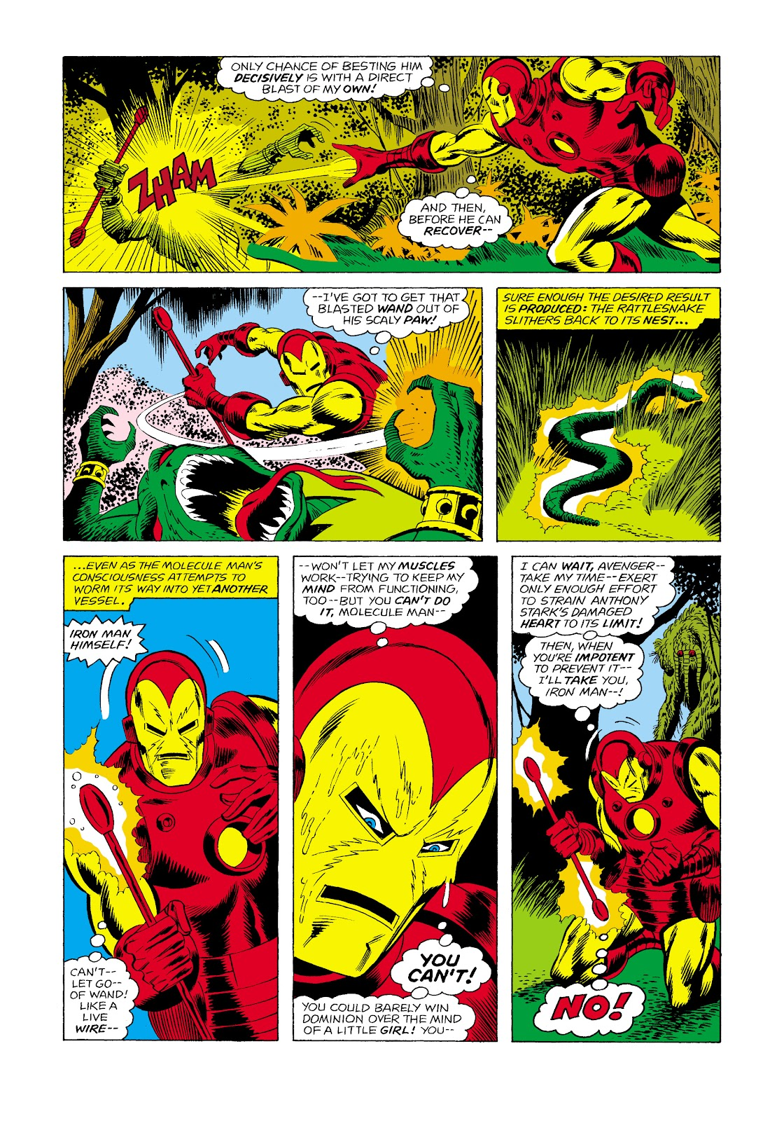 Read online Marvel Masterworks: The Invincible Iron Man comic -  Issue # TPB 11 (Part 2) - 54