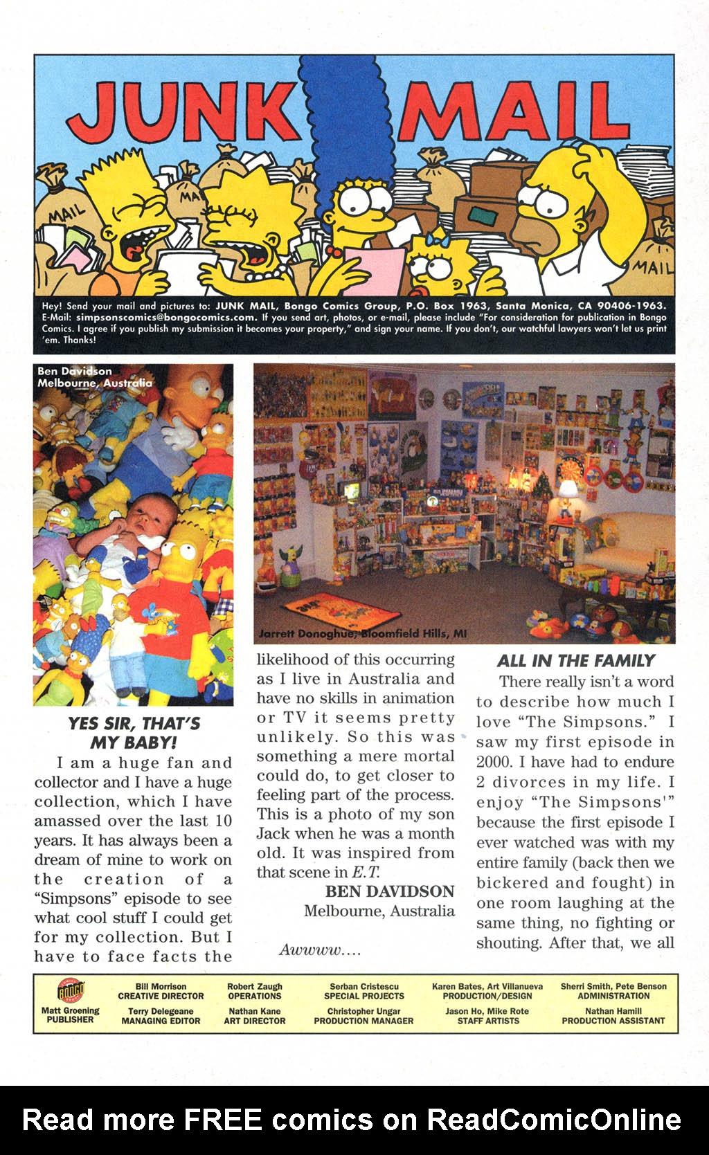 Read online Simpsons Comics comic -  Issue #109 - 29