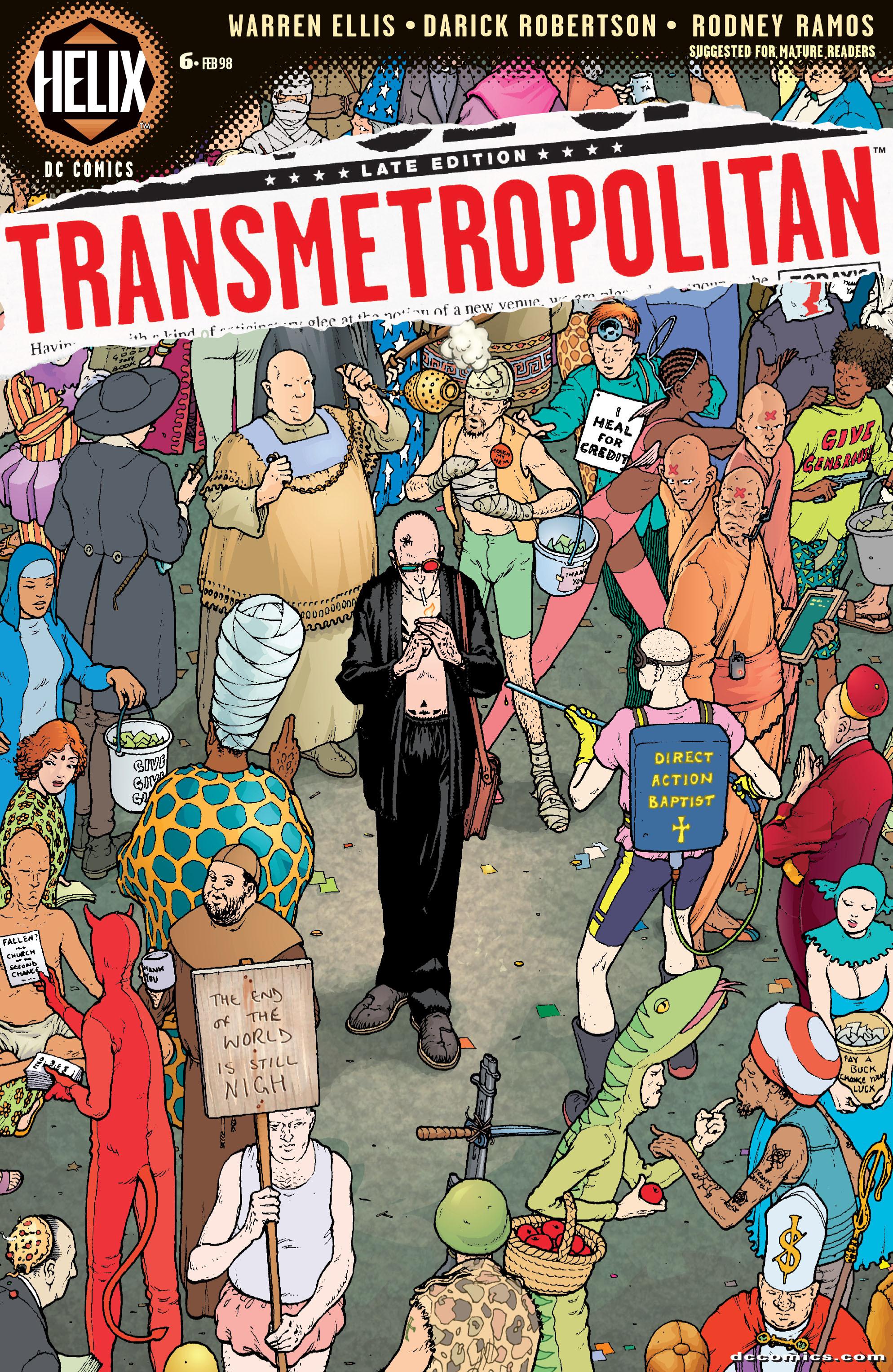 Read online Transmetropolitan comic -  Issue #6 - 1