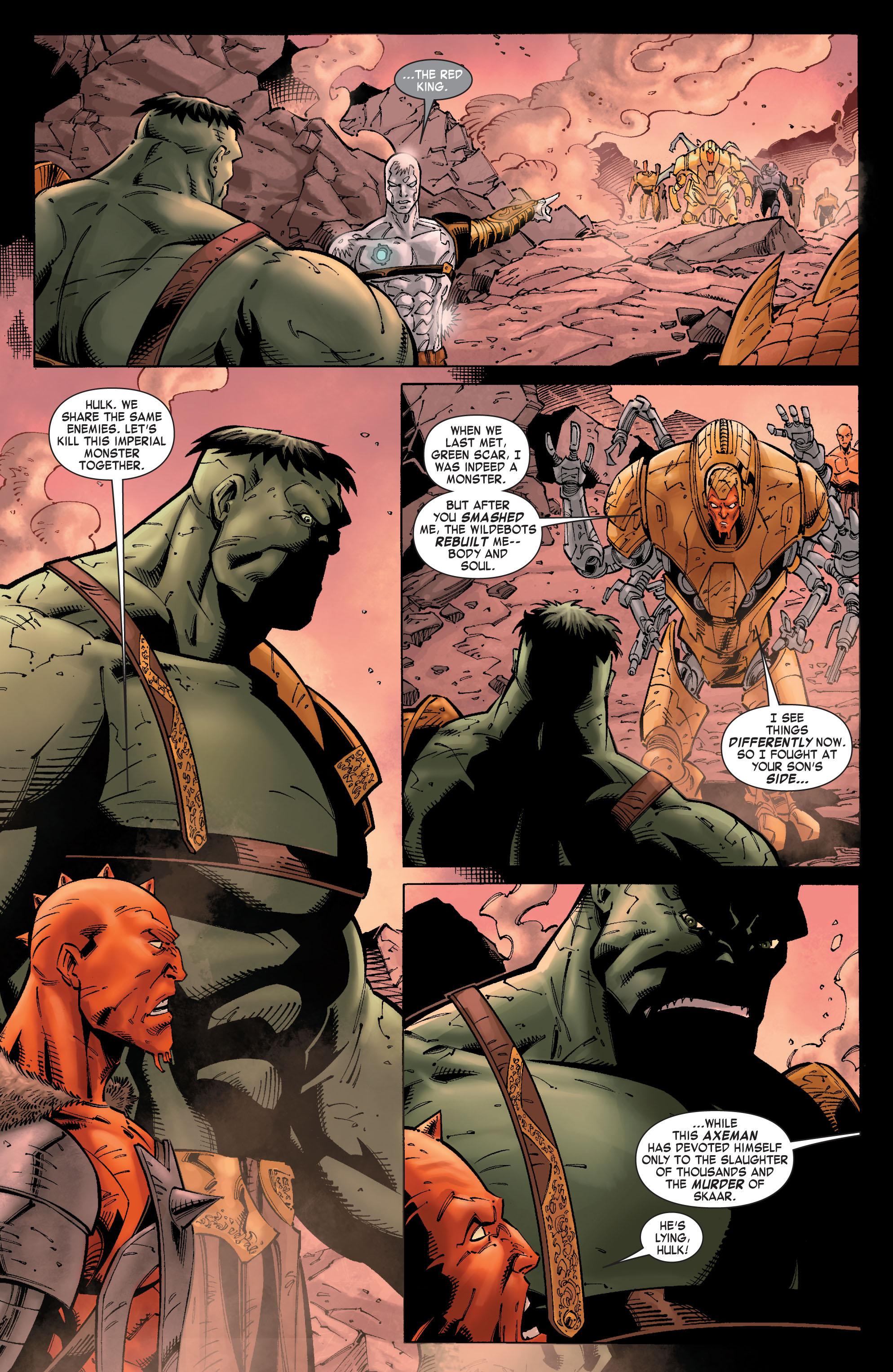 Read online Skaar: Son of Hulk comic -  Issue #9 - 11