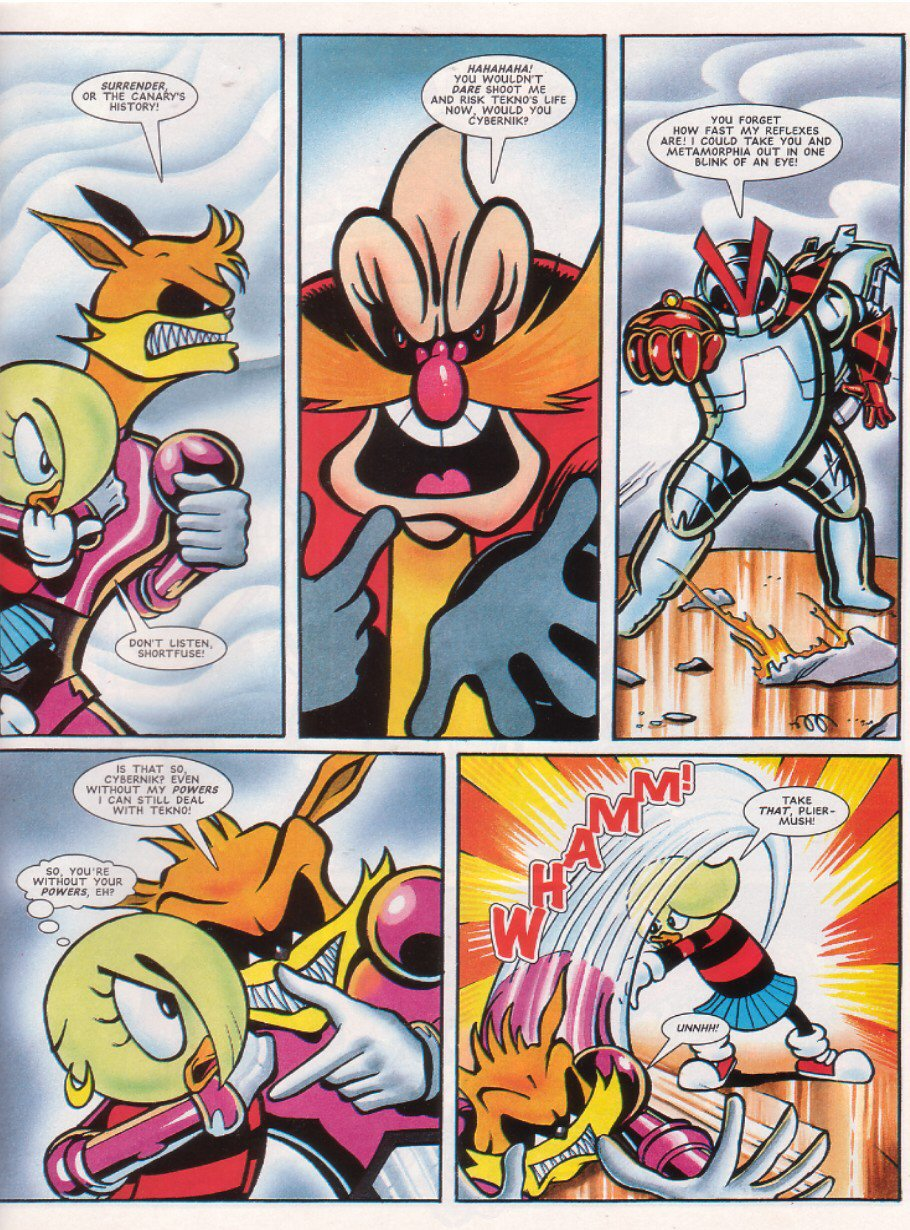 Read online Sonic the Comic comic -  Issue #67 - 26