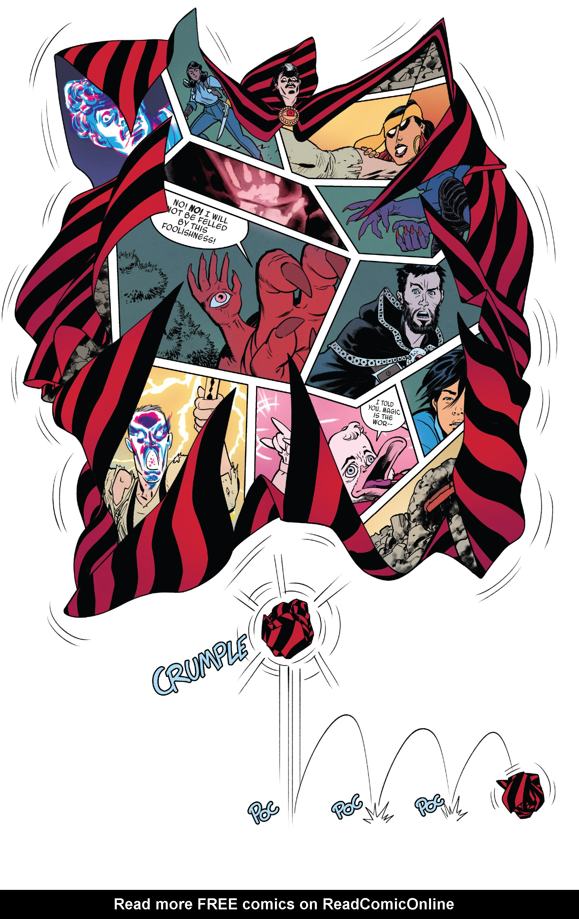 Read online Doctor Strange and the Sorcerers Supreme comic -  Issue #8 - 18