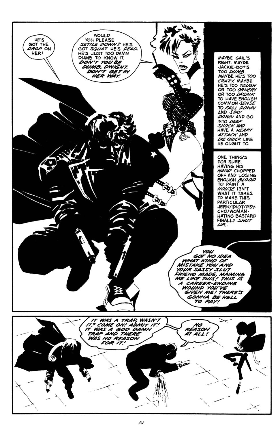 Read online Sin City: The Big Fat Kill comic -  Issue #2 - 15
