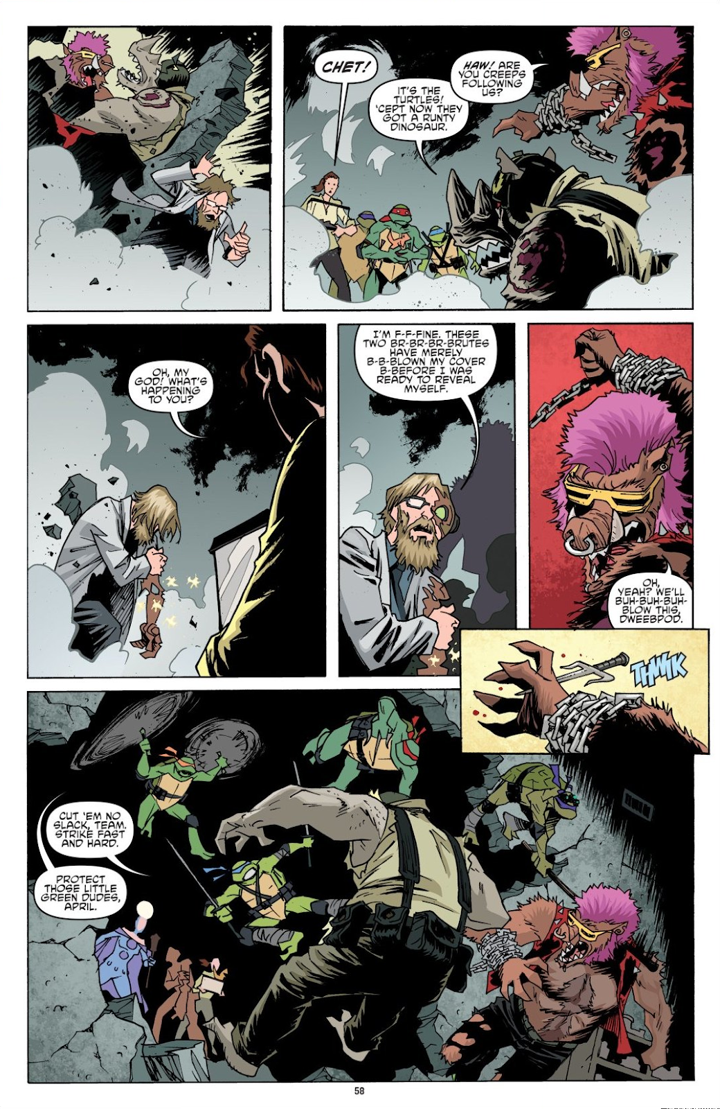 Read online Teenage Mutant Ninja Turtles: The IDW Collection comic -  Issue # TPB 8 (Part 1) - 58
