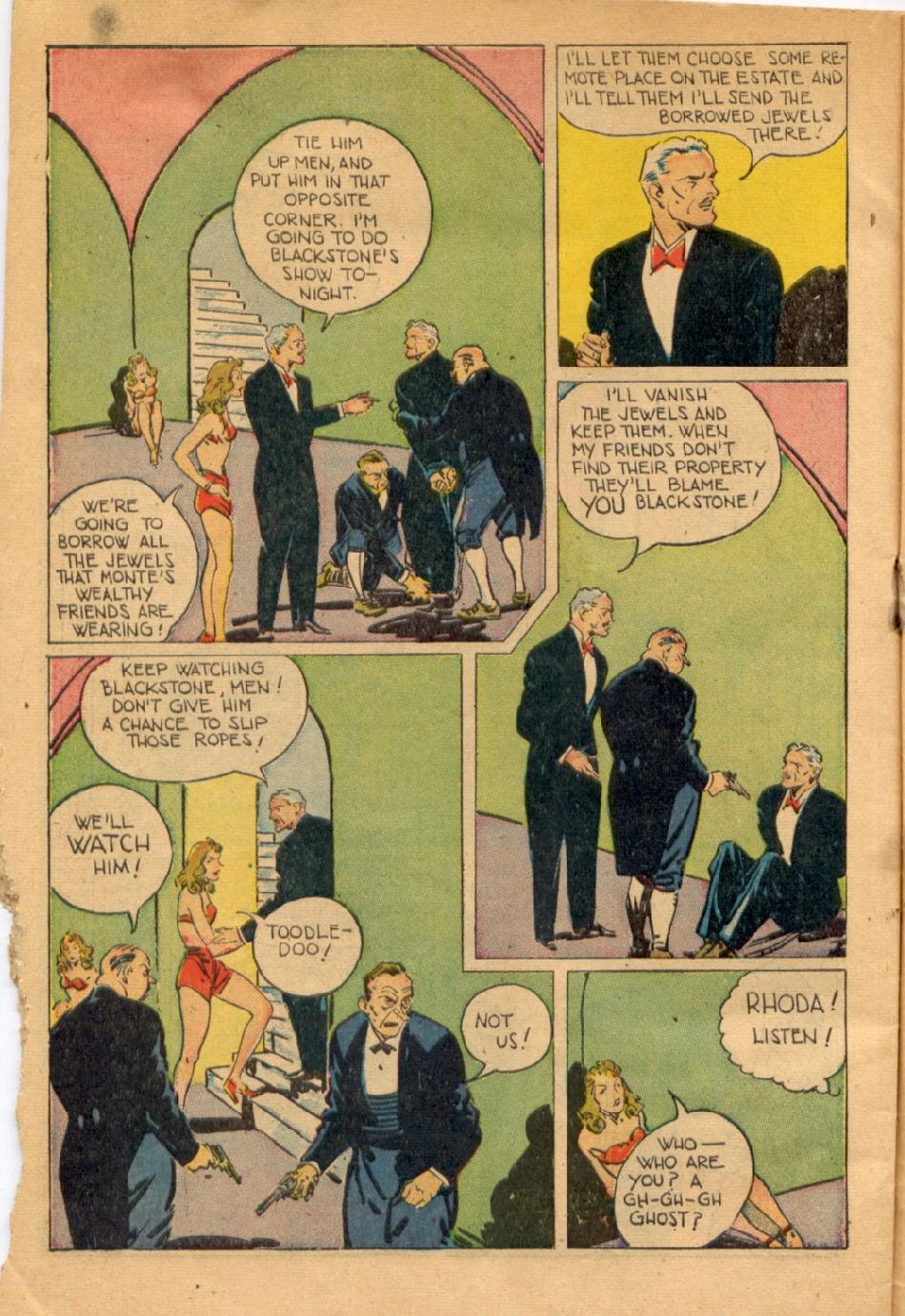 Read online Super-Magician Comics comic -  Issue #43 - 46