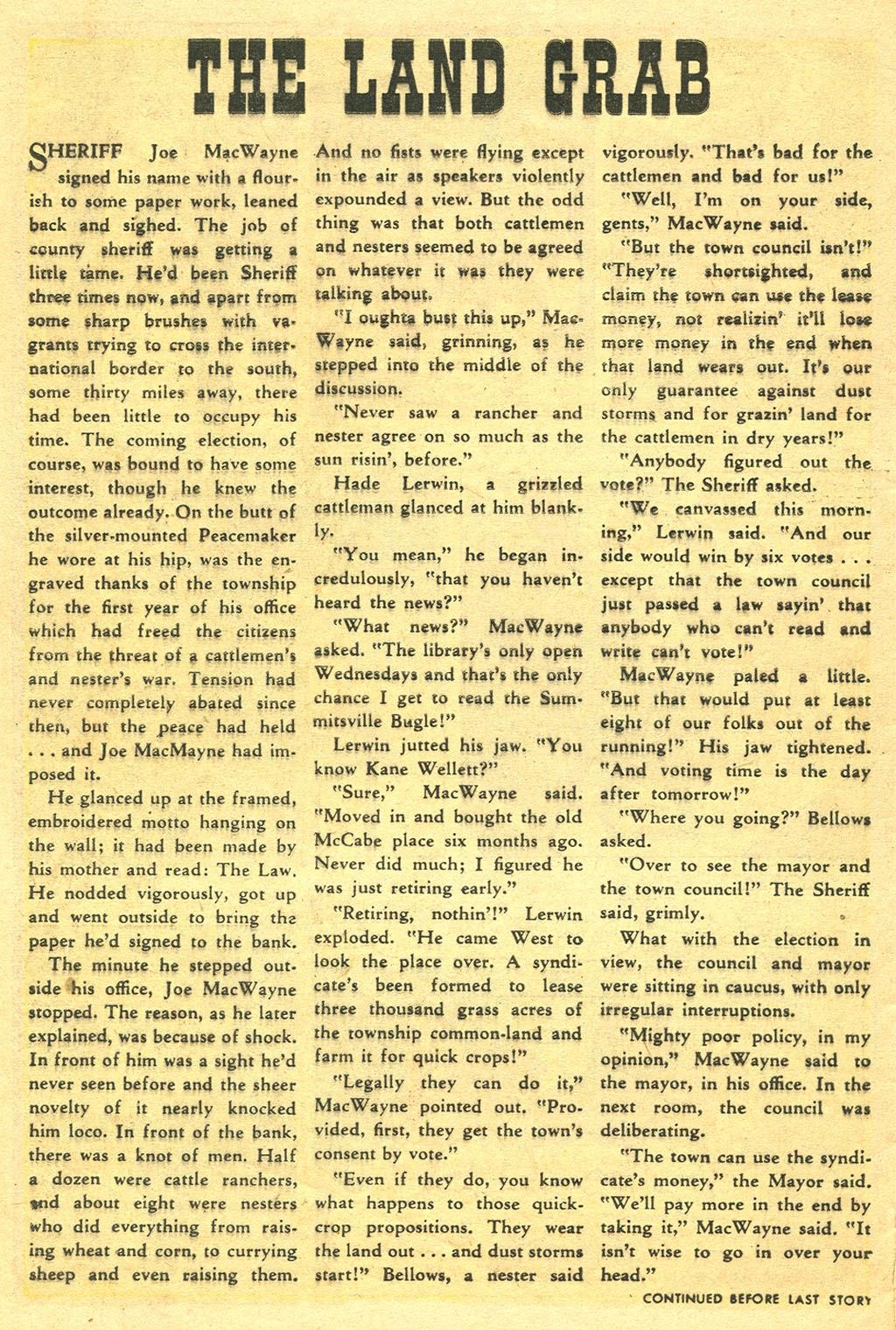 Gunsmoke Western issue 41 - Page 8