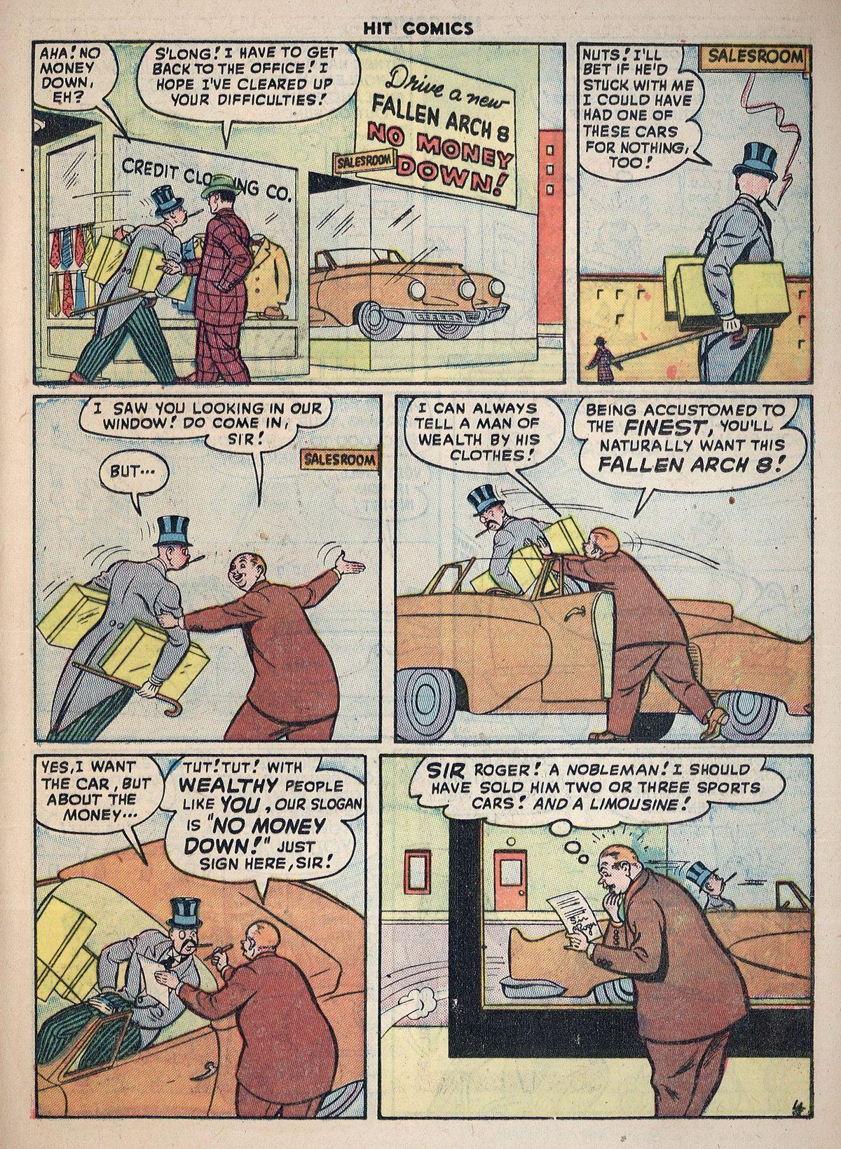 Read online Hit Comics comic -  Issue #55 - 35