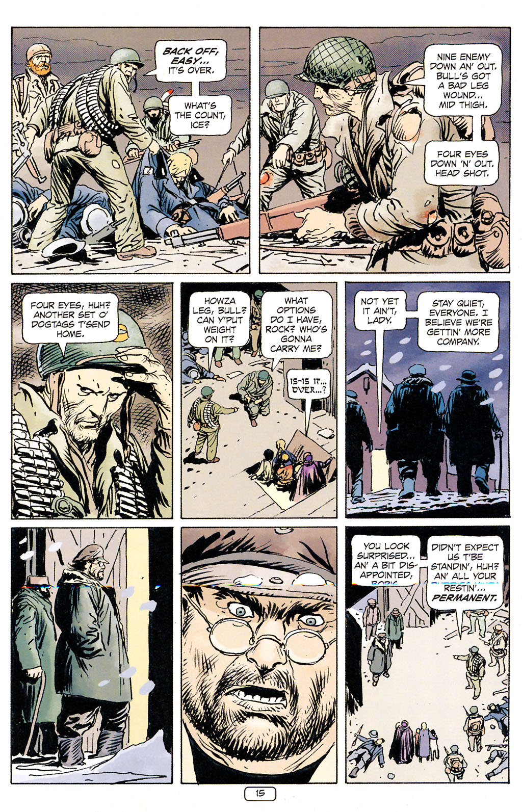 Read online Sgt. Rock: The Prophecy comic -  Issue #5 - 15