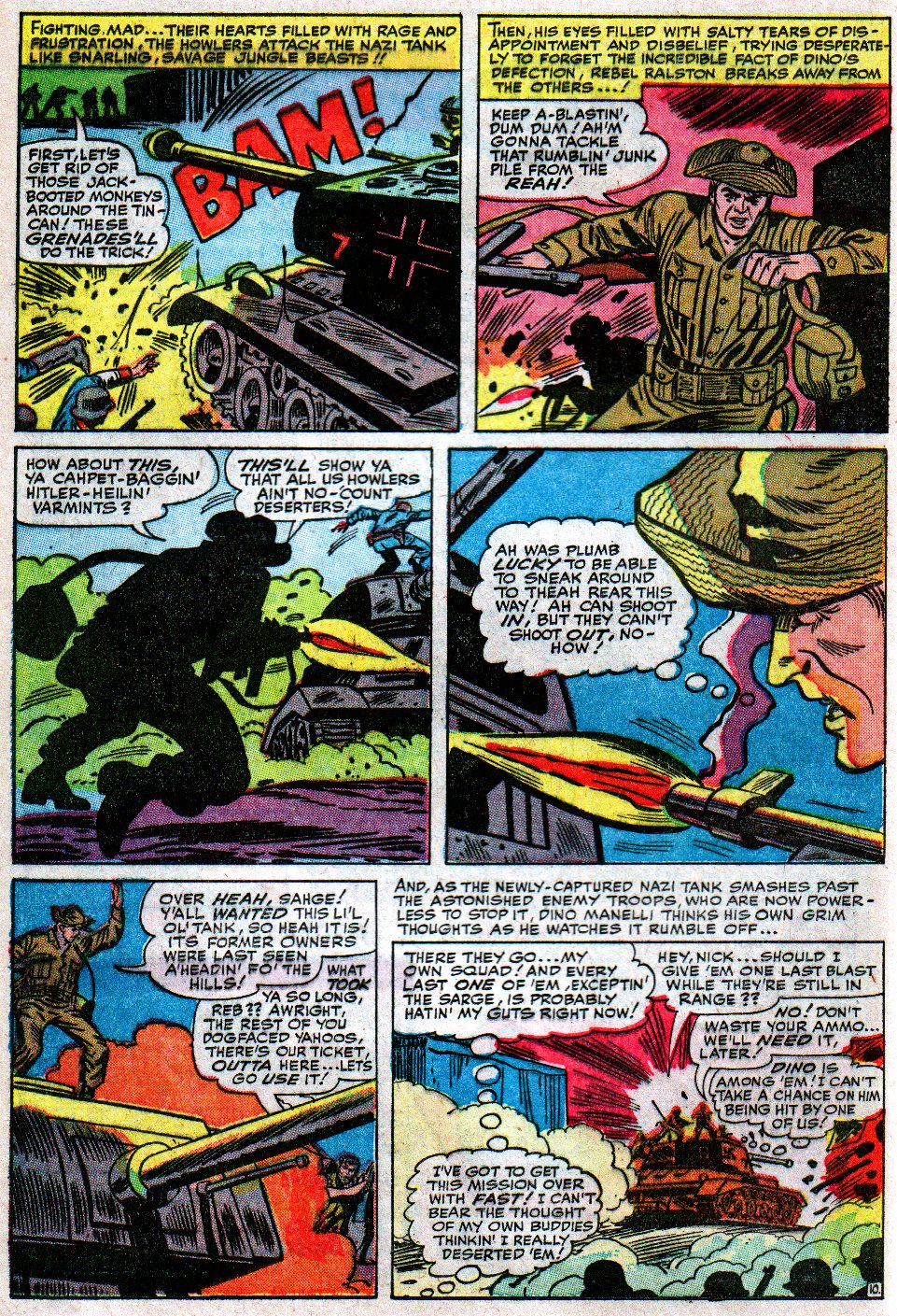 Read online Sgt. Fury comic -  Issue #12 - 16
