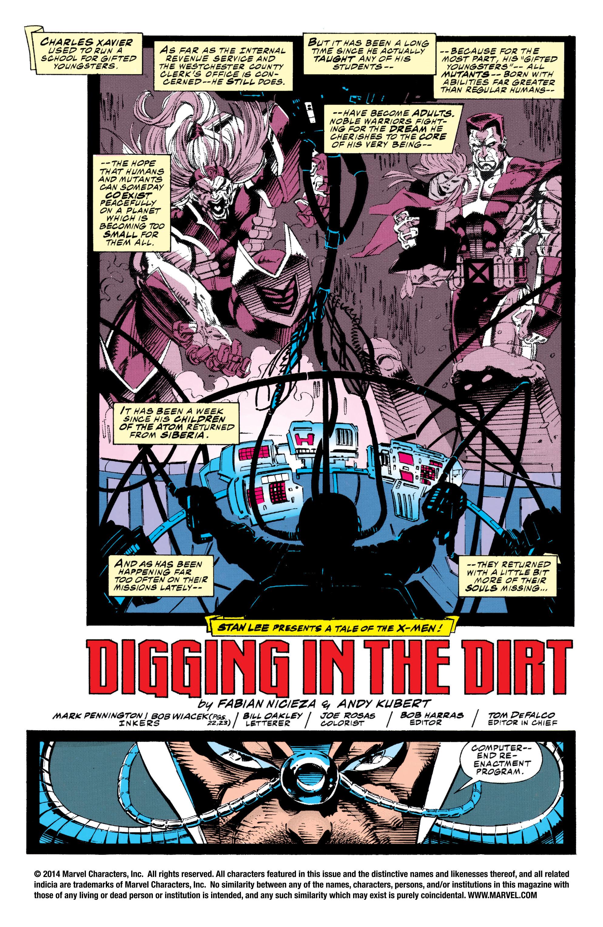 X-Men (1991) 20 Page 1
