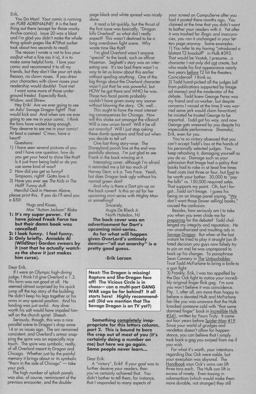 The Savage Dragon (1993) Issue #22 #25 - English 30