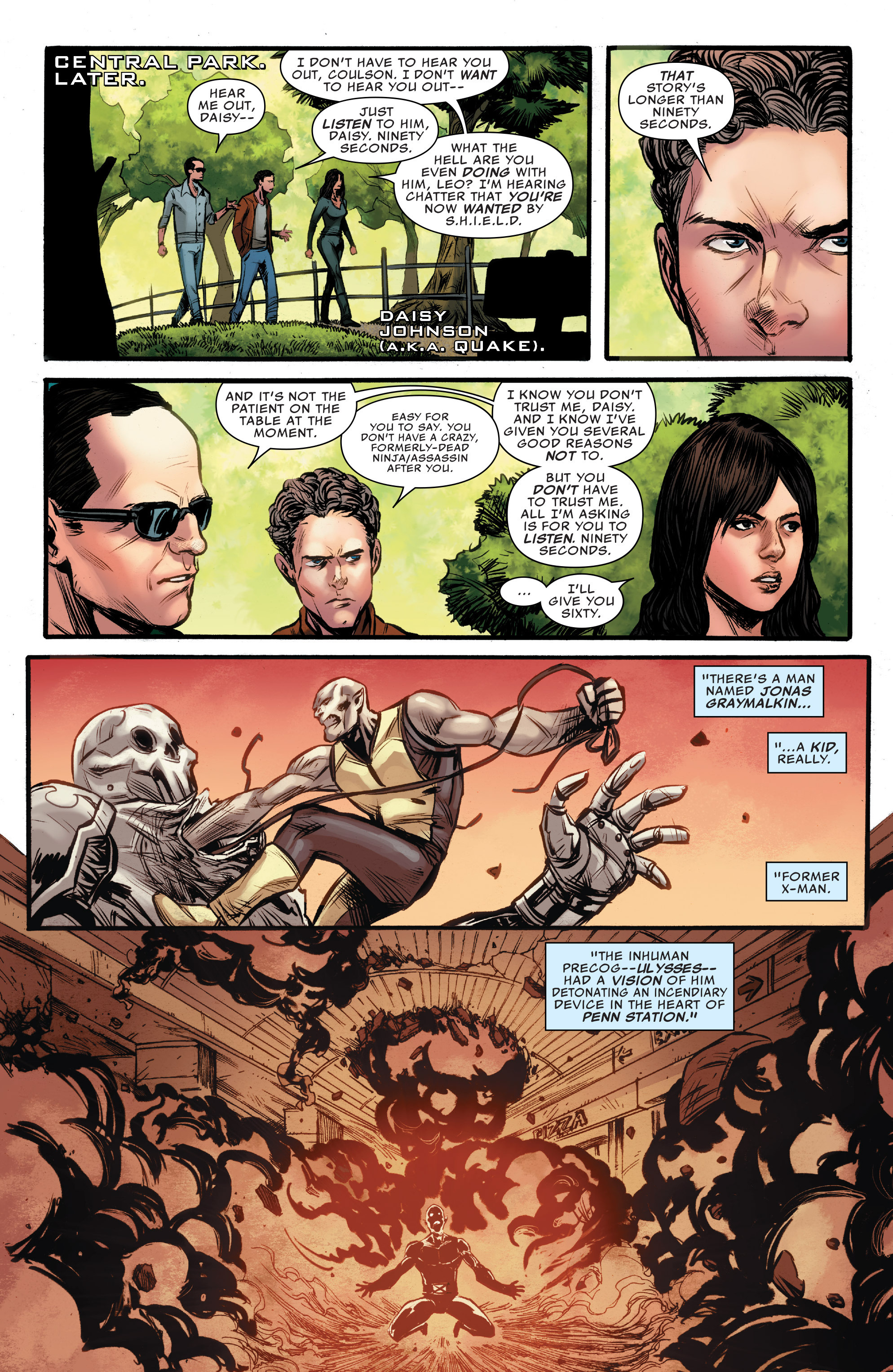 Read online Agents of S.H.I.E.L.D. comic -  Issue #9 - 8