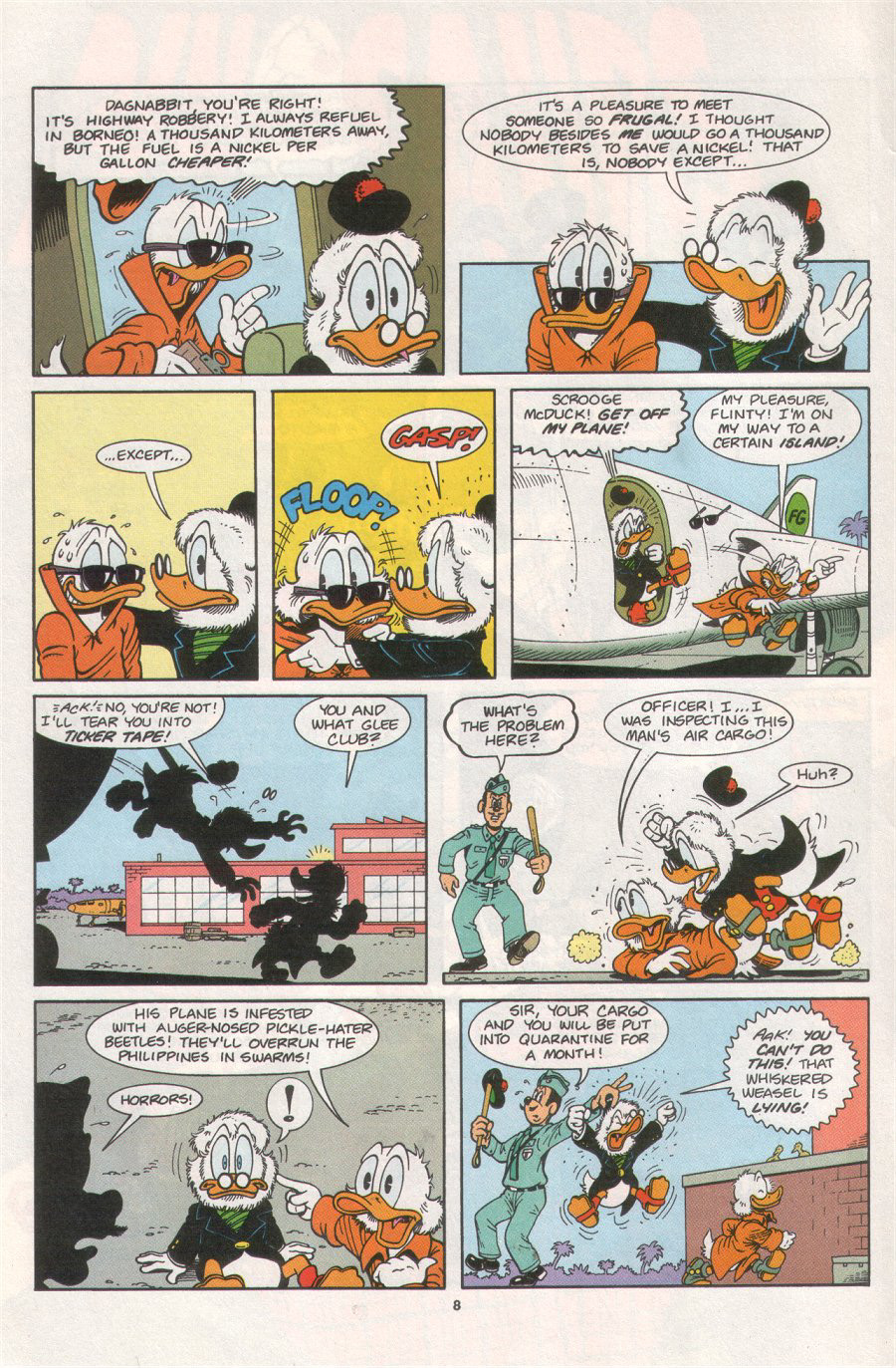 Read online Uncle Scrooge (1953) comic -  Issue #276 - 12