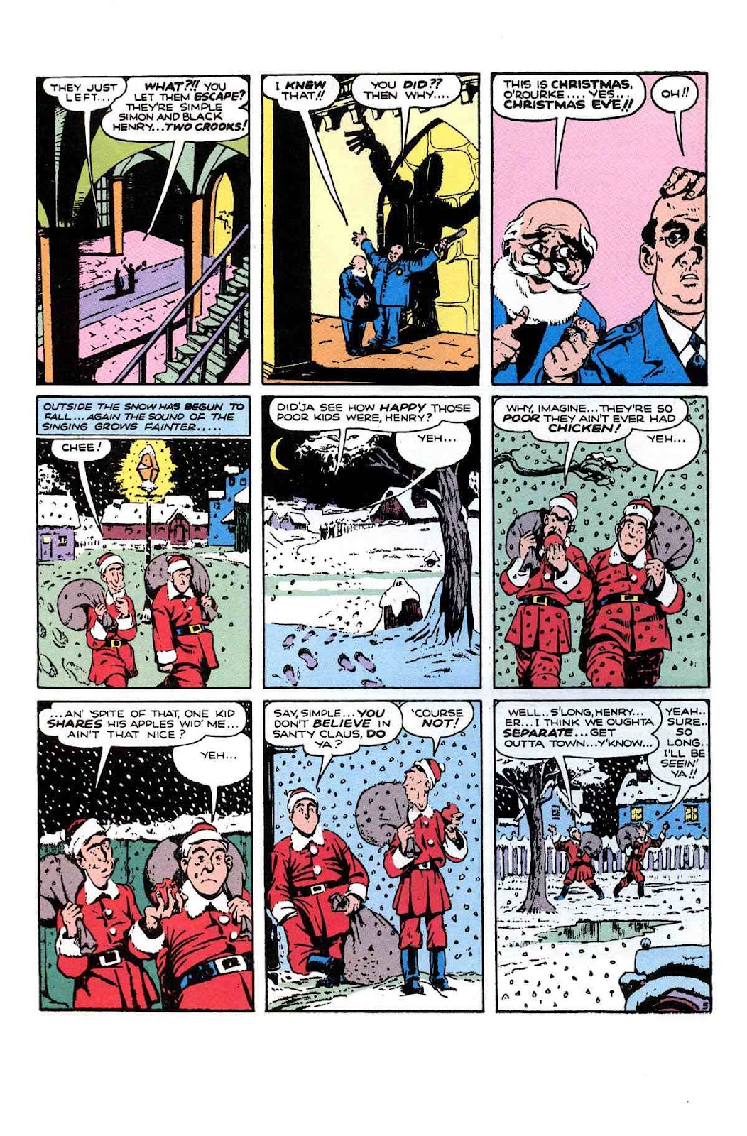 Read online Will Eisner's The Spirit Archives comic -  Issue # TPB 1 (Part 3) - 9