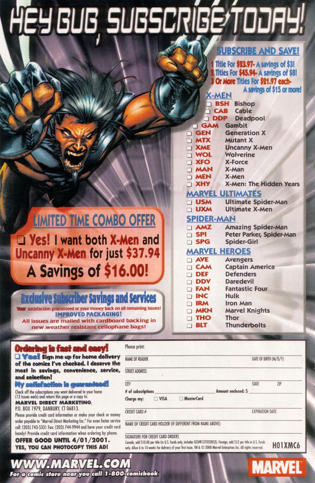 Read online Sentry/X-Men comic -  Issue # Full - 17