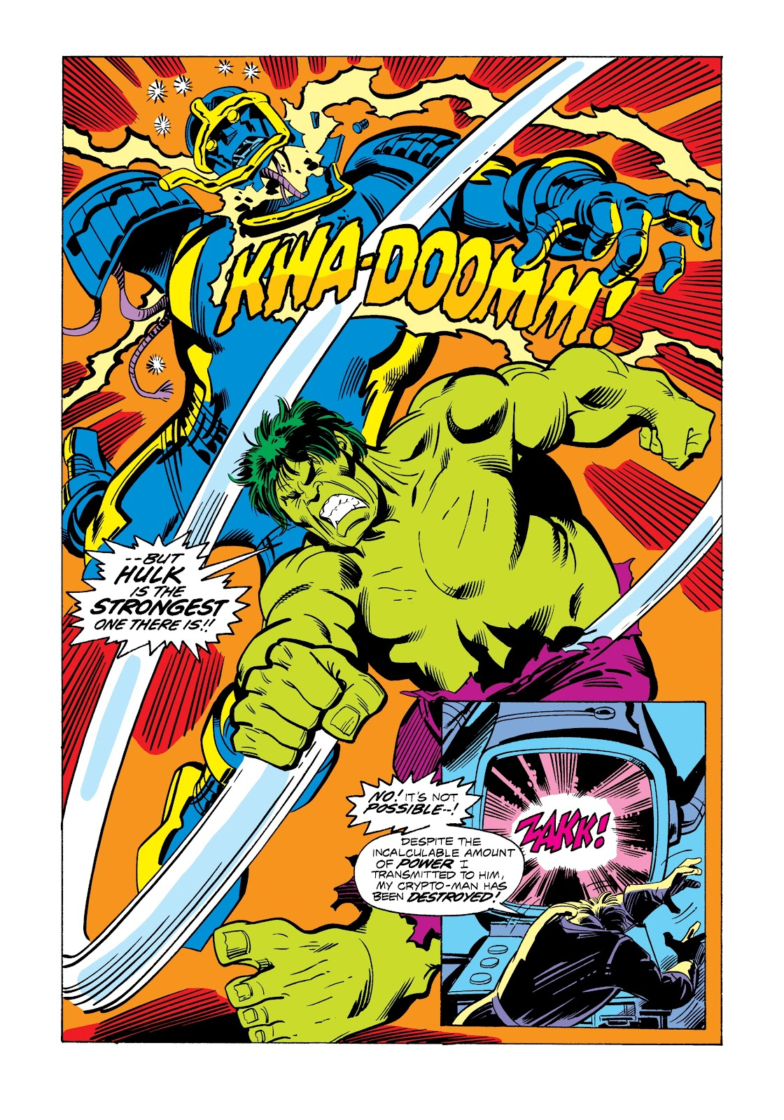 Read online Marvel Masterworks: The Incredible Hulk comic -  Issue # TPB 12 (Part 3) - 6